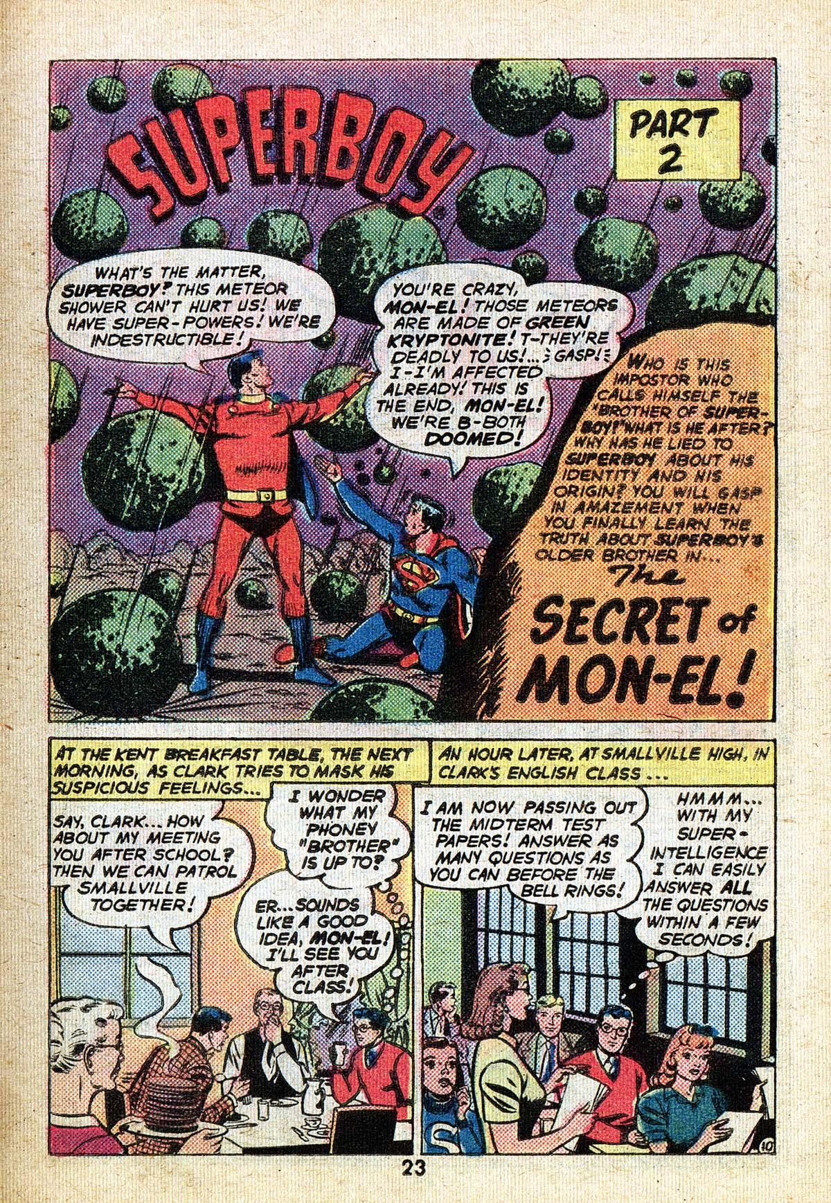 Read online Adventure Comics (1938) comic -  Issue #494 - 23
