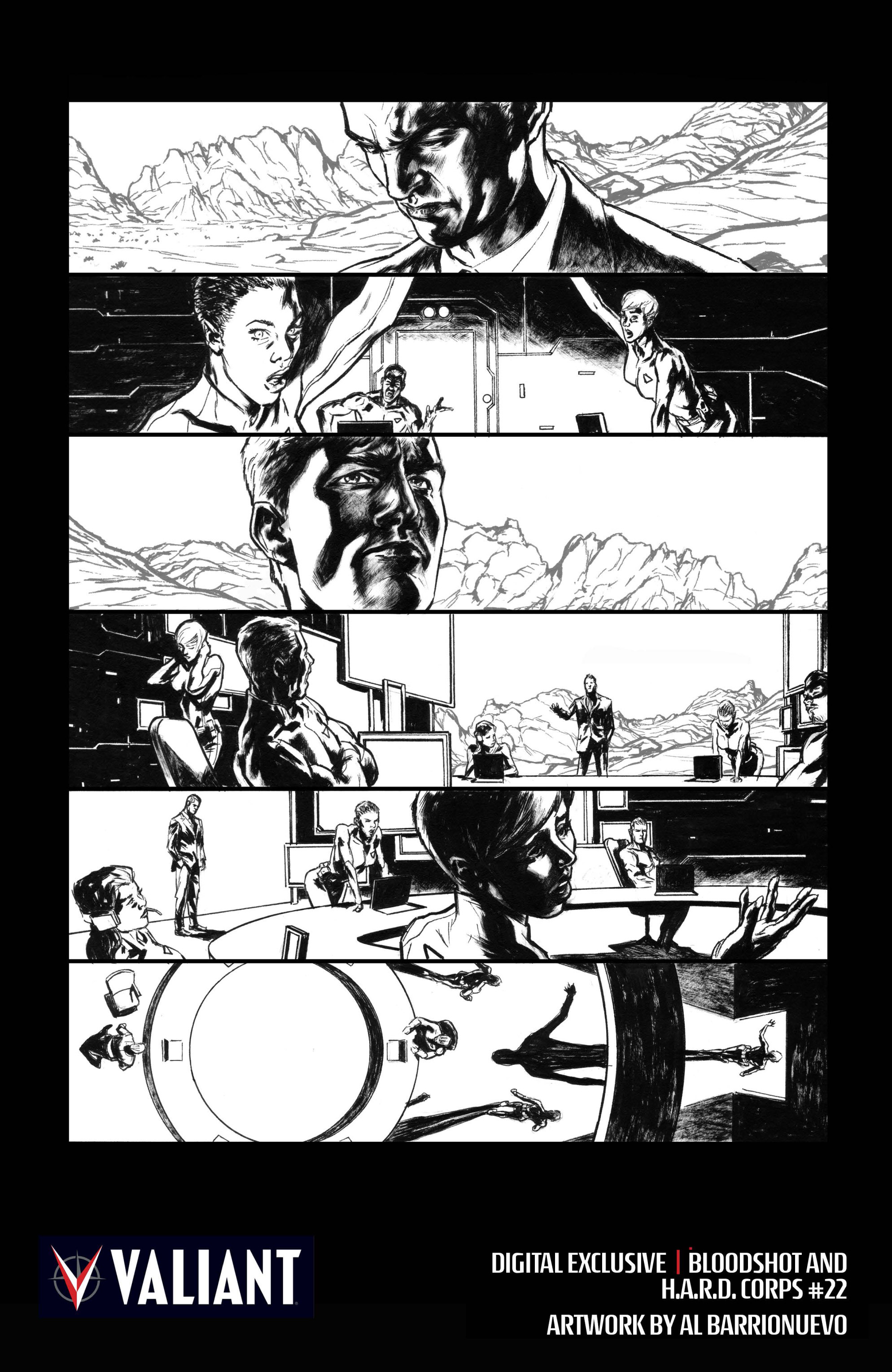 Read online Bloodshot and H.A.R.D.Corps comic -  Issue #22 - 29