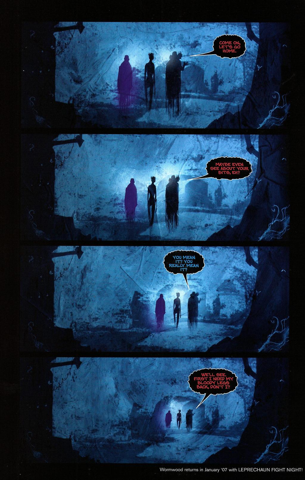Read online Wormwood: Gentleman Corpse comic -  Issue #4 - 25