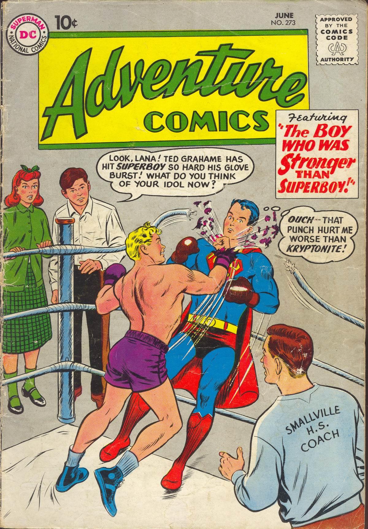 Read online Adventure Comics (1938) comic -  Issue #273 - 1