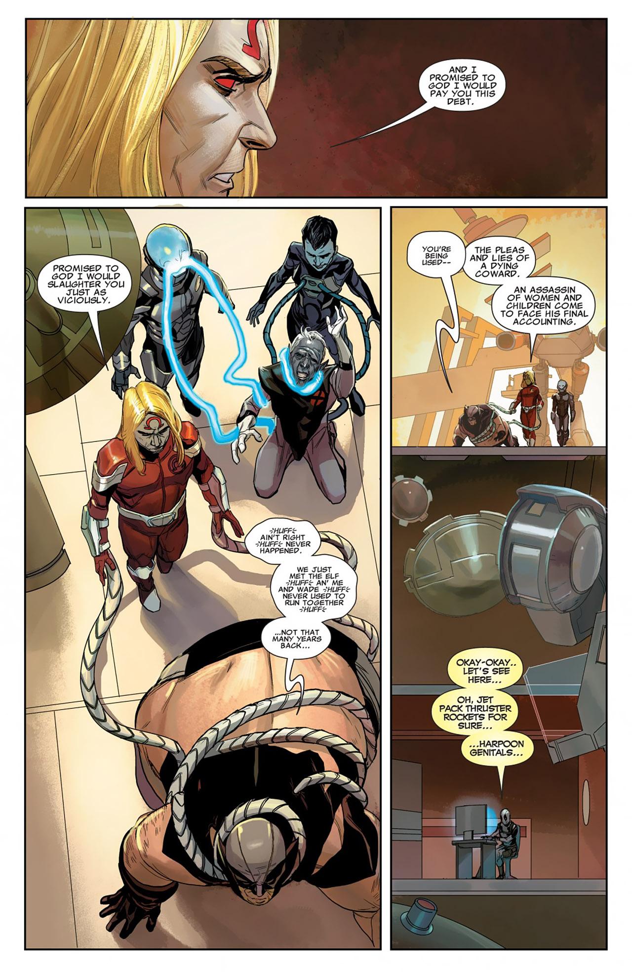 Uncanny X-Force (2010) #26 #28 - English 10
