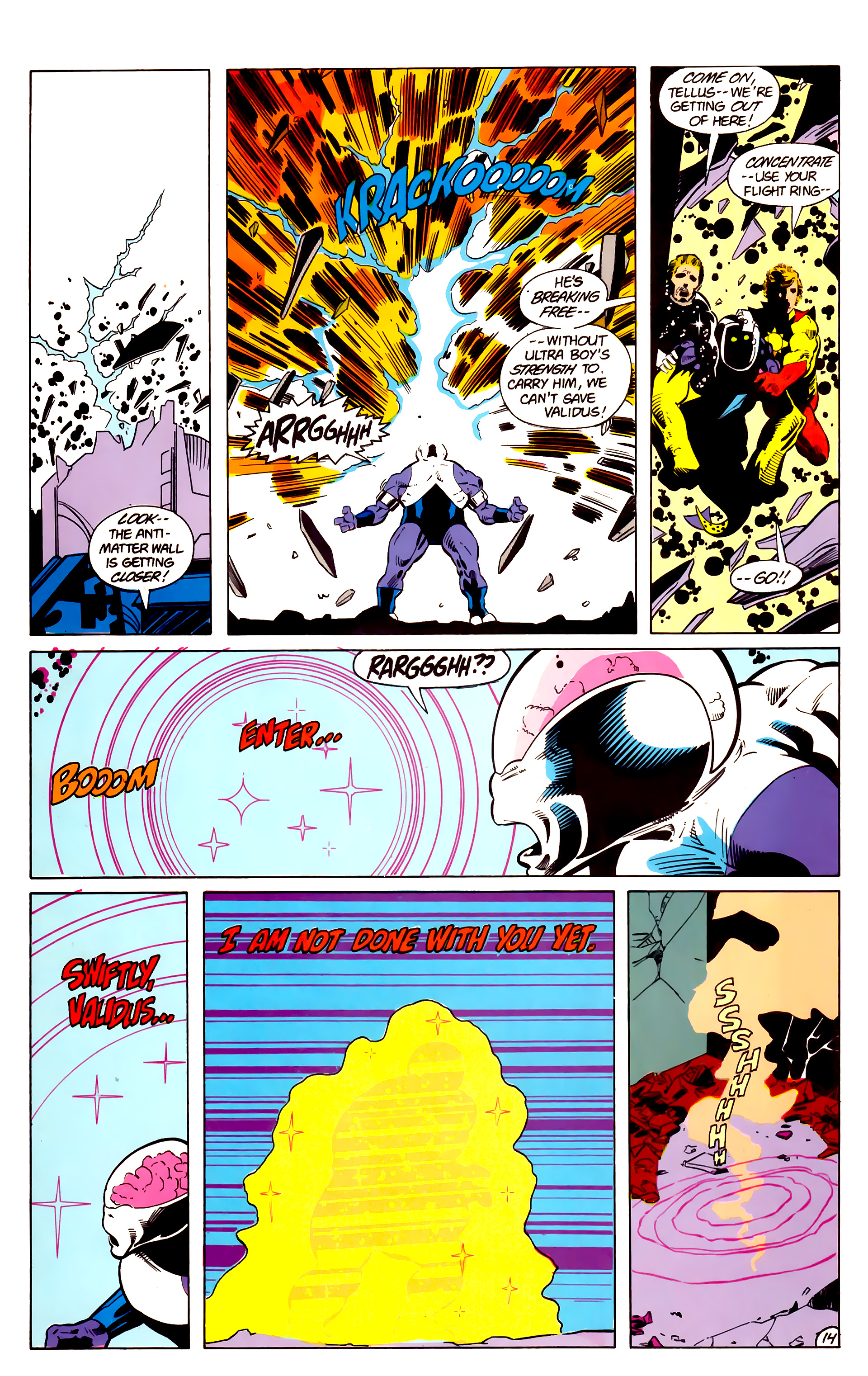 Legion of Super-Heroes (1984) 18 Page 14
