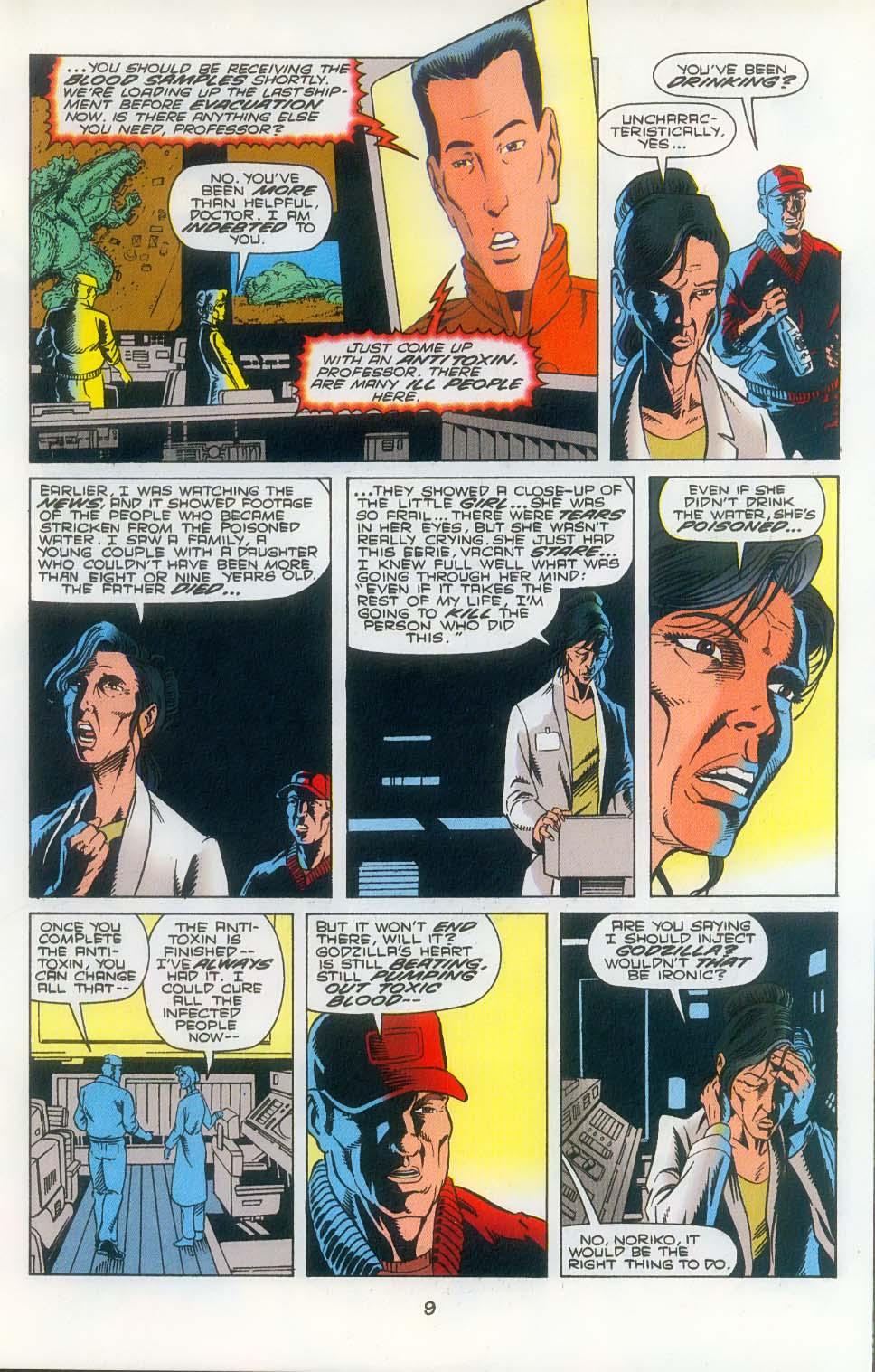 Godzilla (1995) Issue #3 #4 - English 11