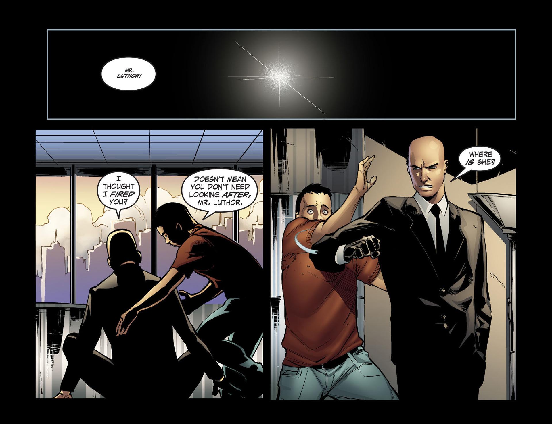 Read online Smallville: Season 11 comic -  Issue #40 - 13