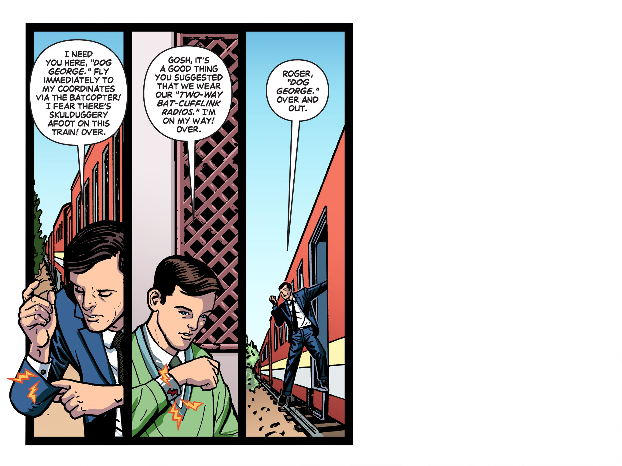 Read online Batman '66 Meets the Green Hornet [II] comic -  Issue #1 - 90