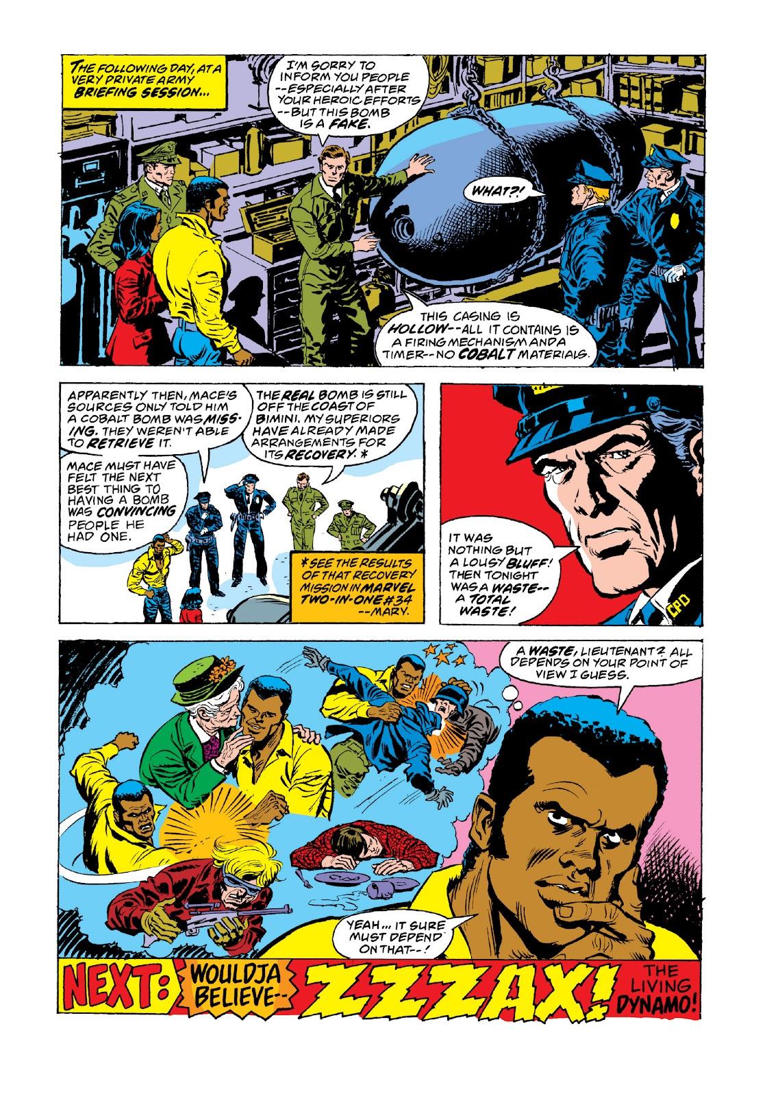 Read online Marvel Masterworks: Luke Cage, Power Man comic -  Issue # TPB 3 (Part 3) - 99