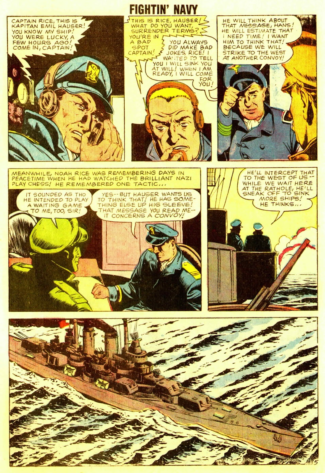 Read online Fightin' Navy comic -  Issue #83 - 79