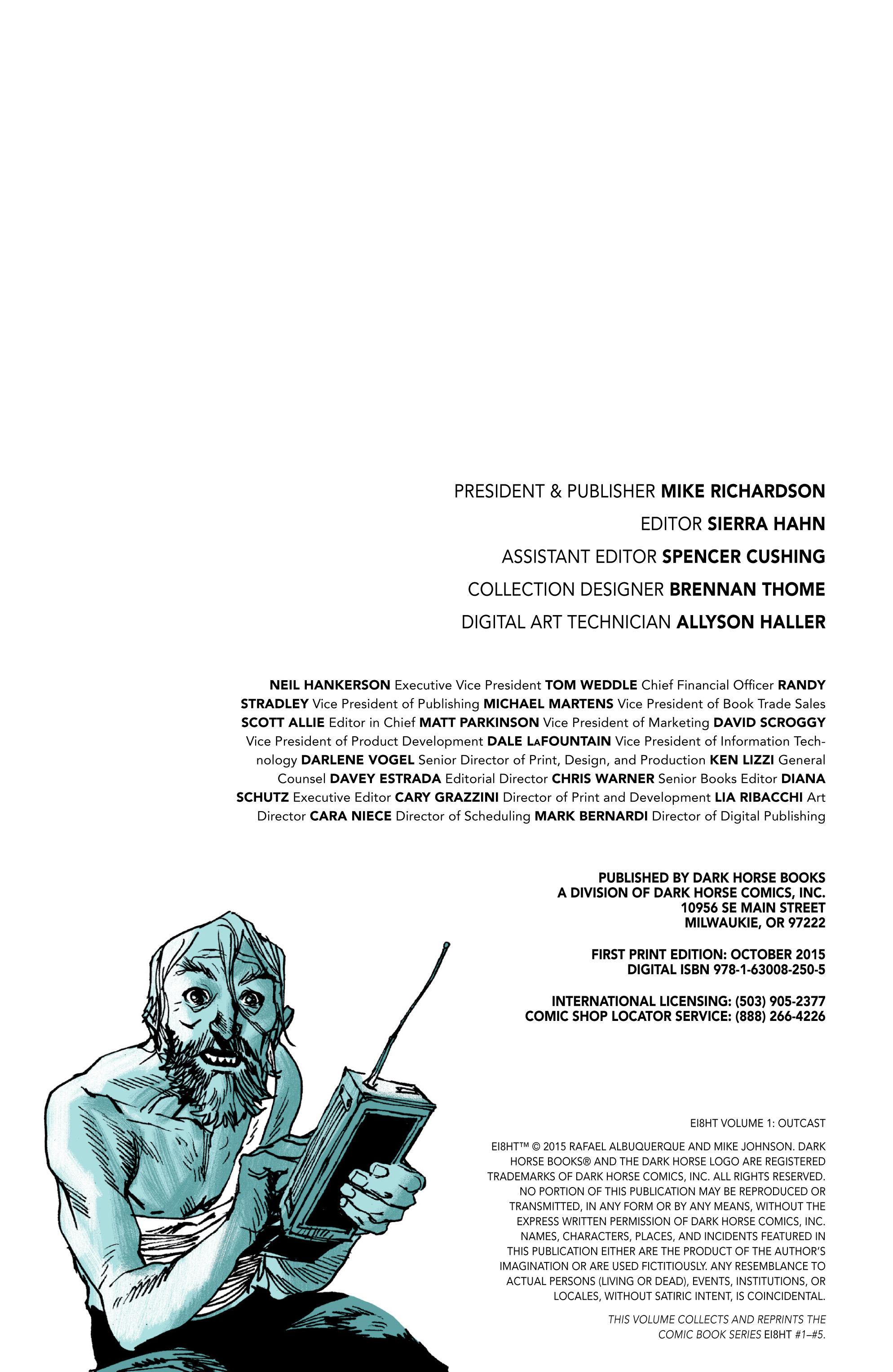 Read online Ei8ht comic -  Issue # TPB - 4