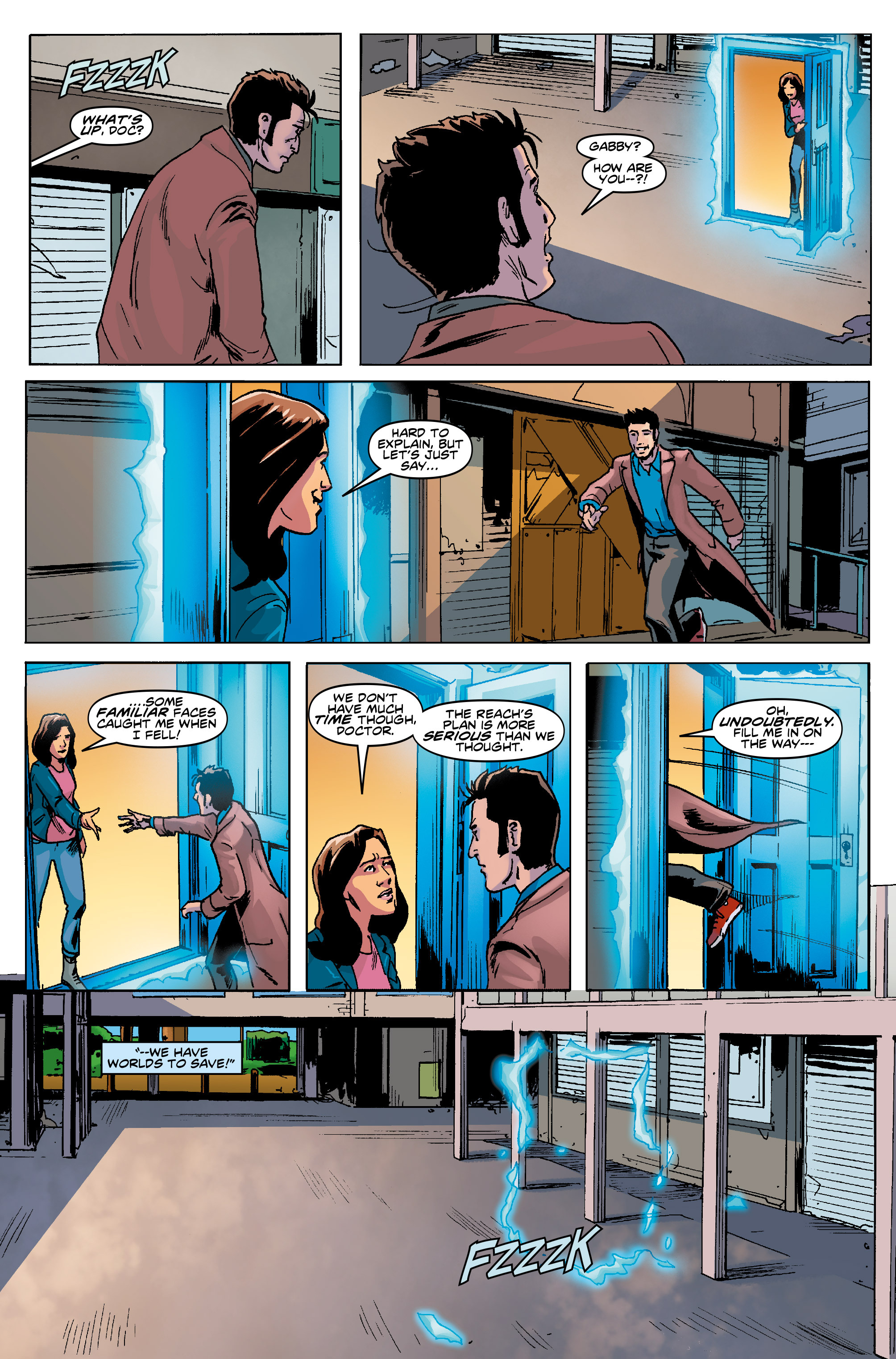 Read online Doctor Who: The Tenth Doctor Year Three comic -  Issue #5 - 23