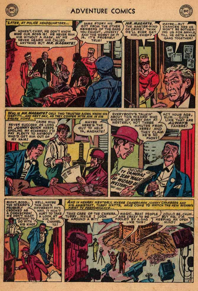 Read online Adventure Comics (1938) comic -  Issue #187 - 26