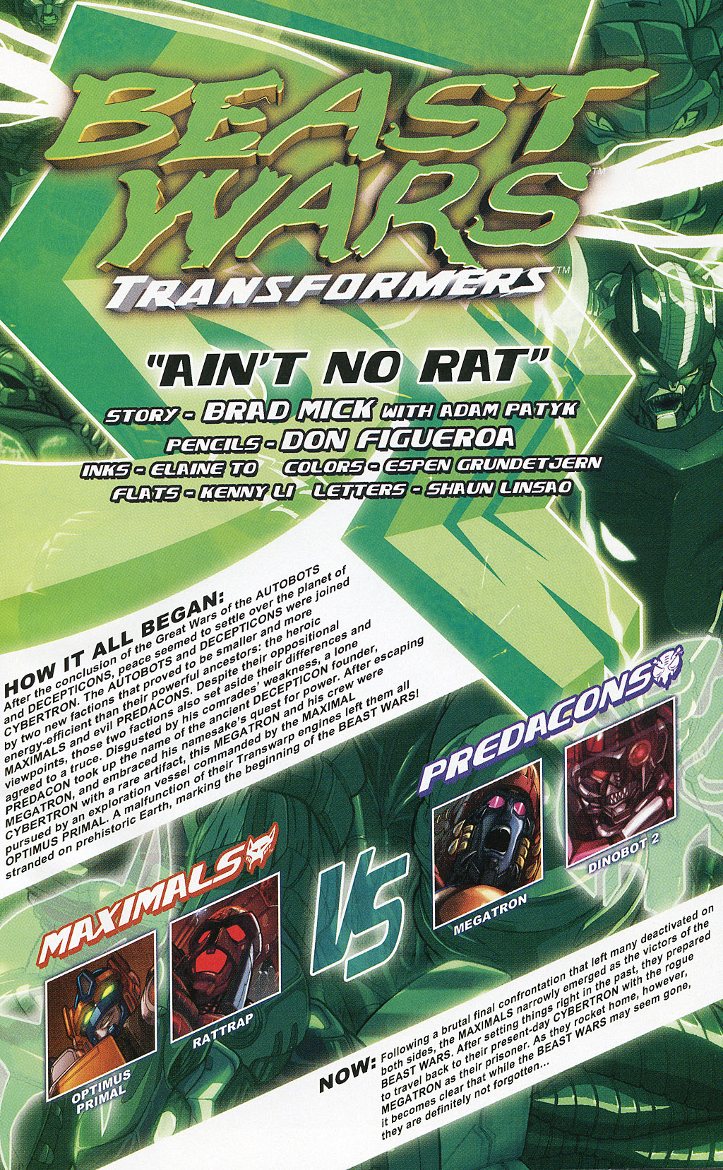 Read online Transformers 20th Anniversary Summer Special comic -  Issue # Full - 32