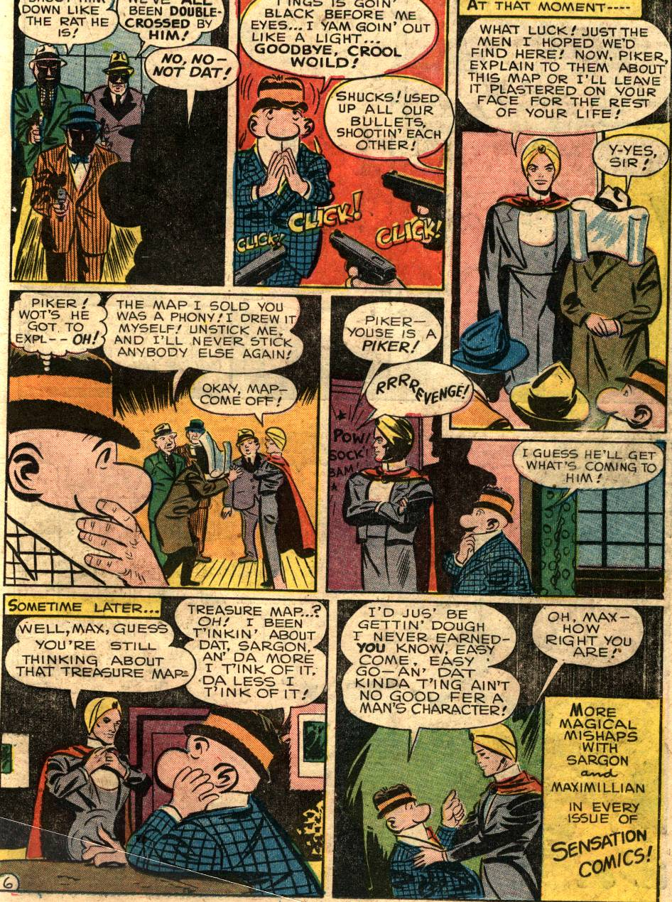 Read online Sensation (Mystery) Comics comic -  Issue #58 - 29