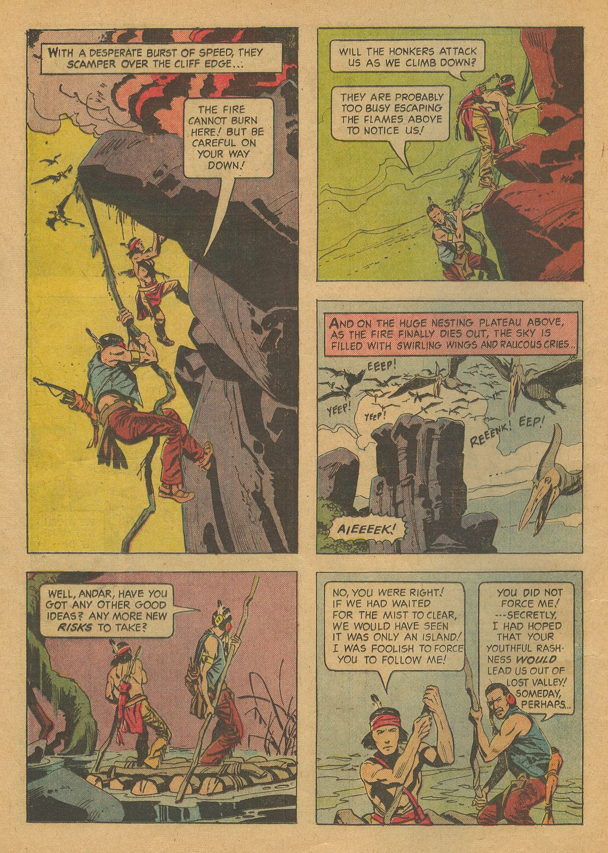 Read online Turok, Son of Stone comic -  Issue #37 - 16