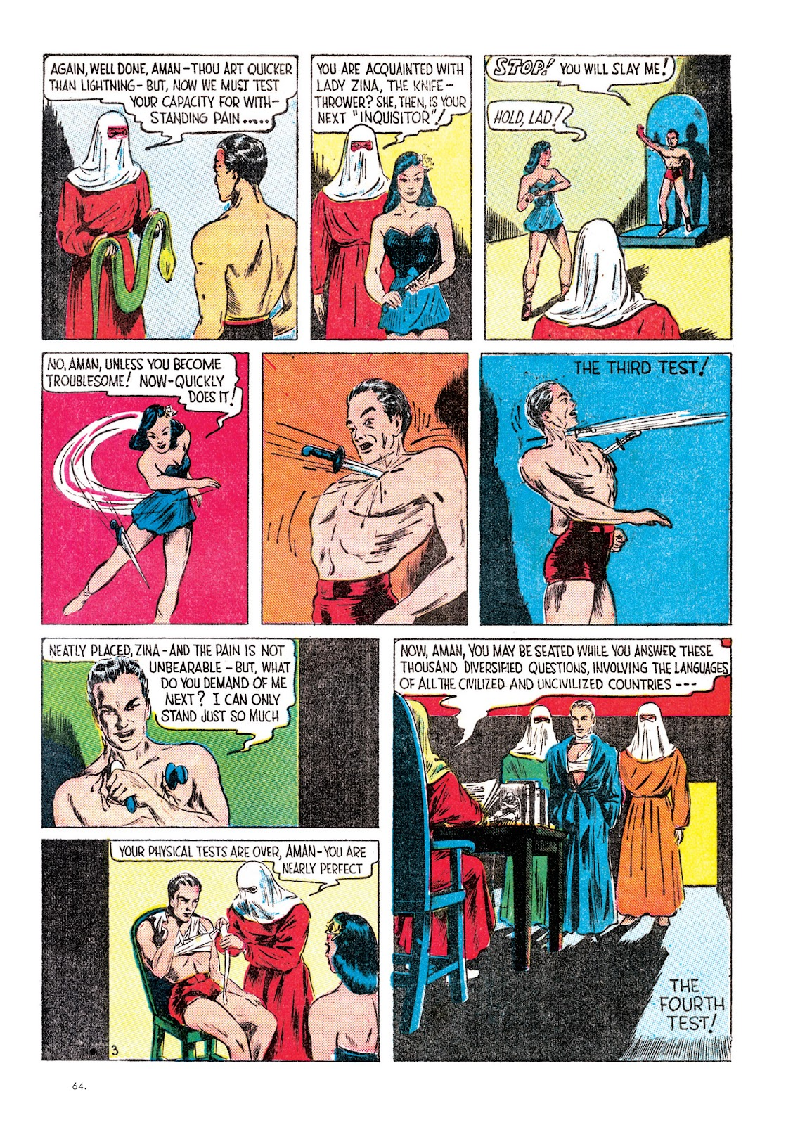 Read online The Bill Everett Archives comic -  Issue # TPB 1 (Part 1) - 64