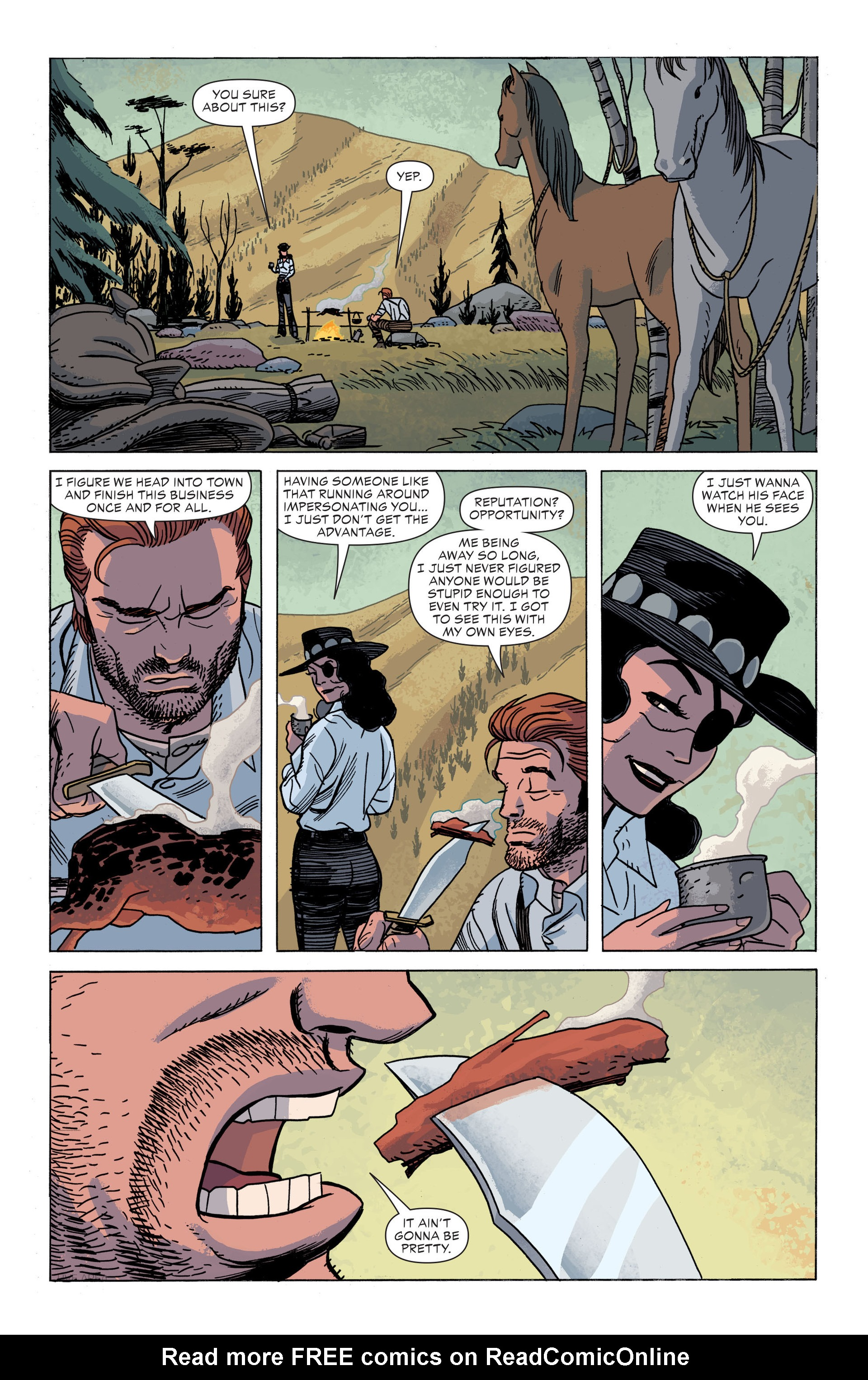 Read online All-Star Western (2011) comic -  Issue #34 - 5