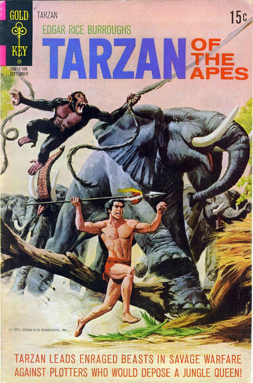 Tarzan (1962) issue 203 - Page 1