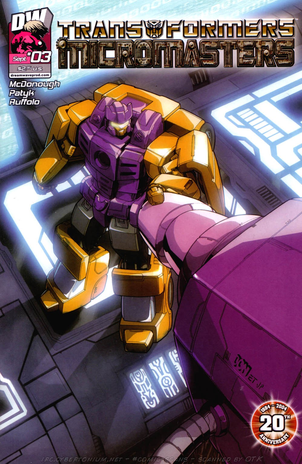Read online Transformers: Micromasters comic -  Issue #3 - 2