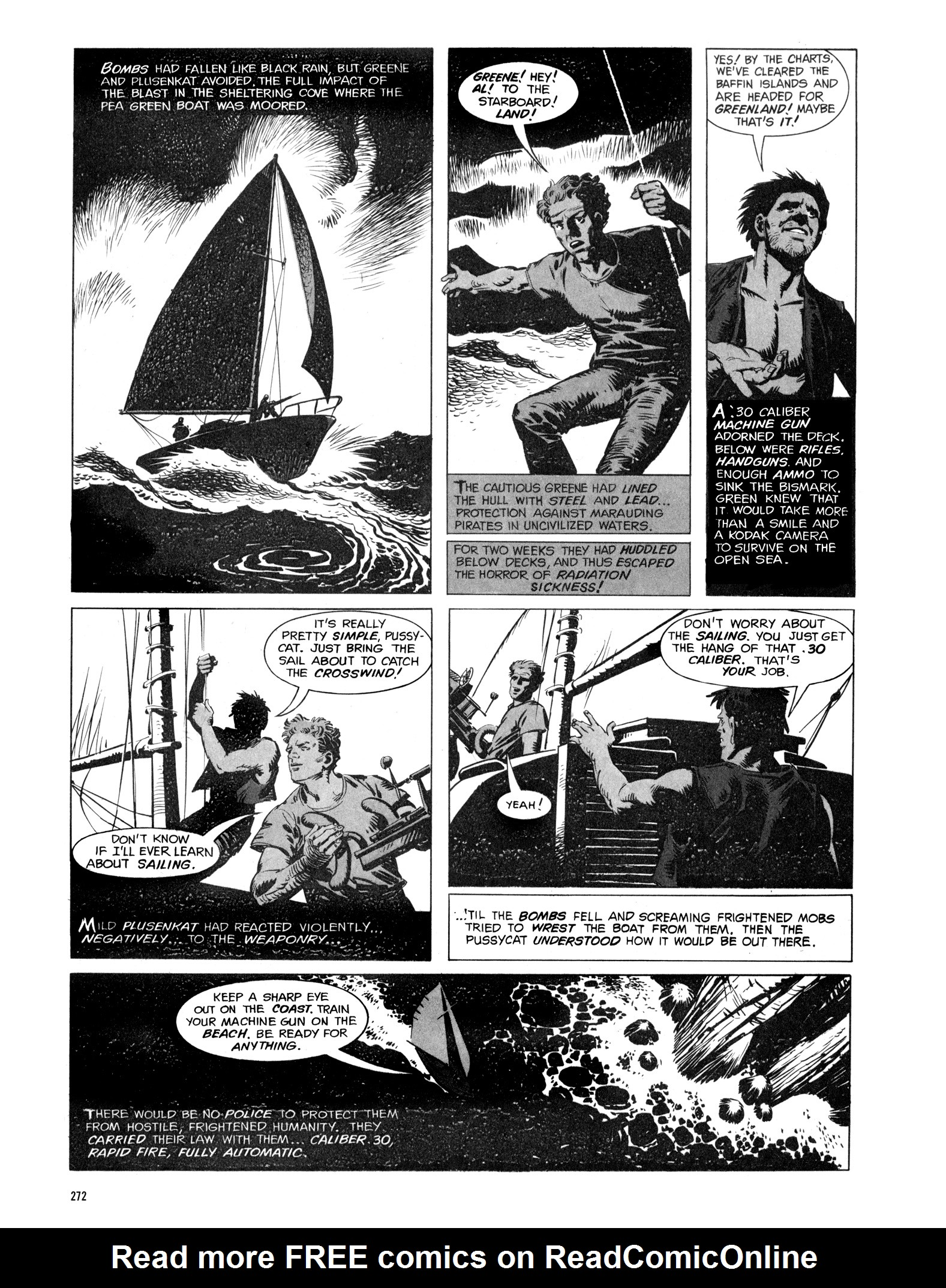 Read online Eerie Archives comic -  Issue # TPB 16 - 273