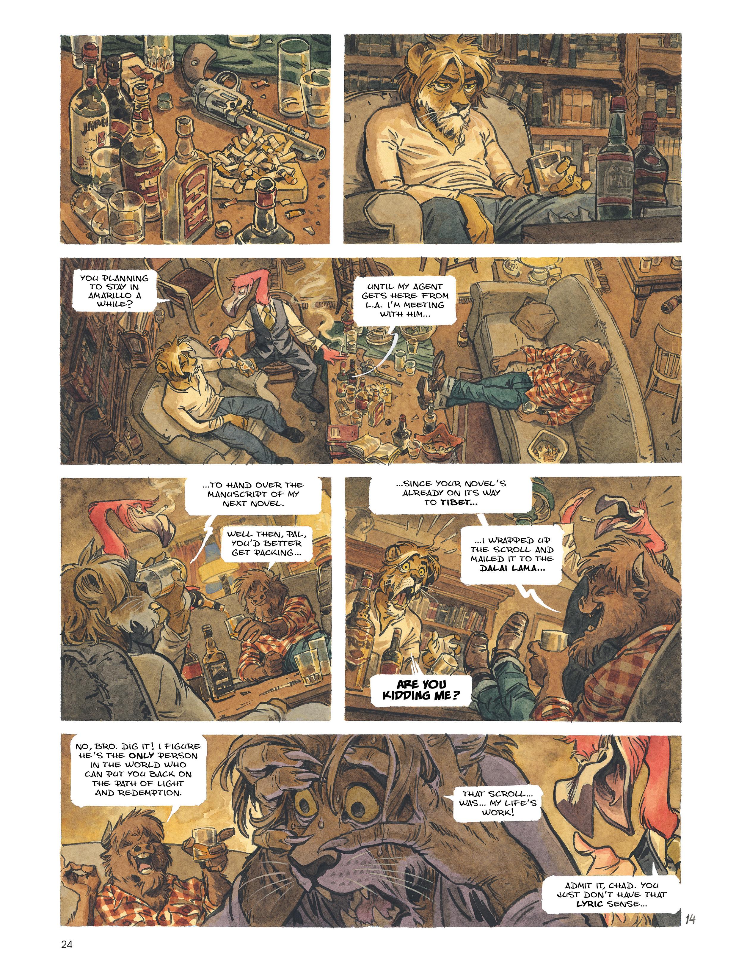 Read online Blacksad: Amarillo comic -  Issue # Full - 23