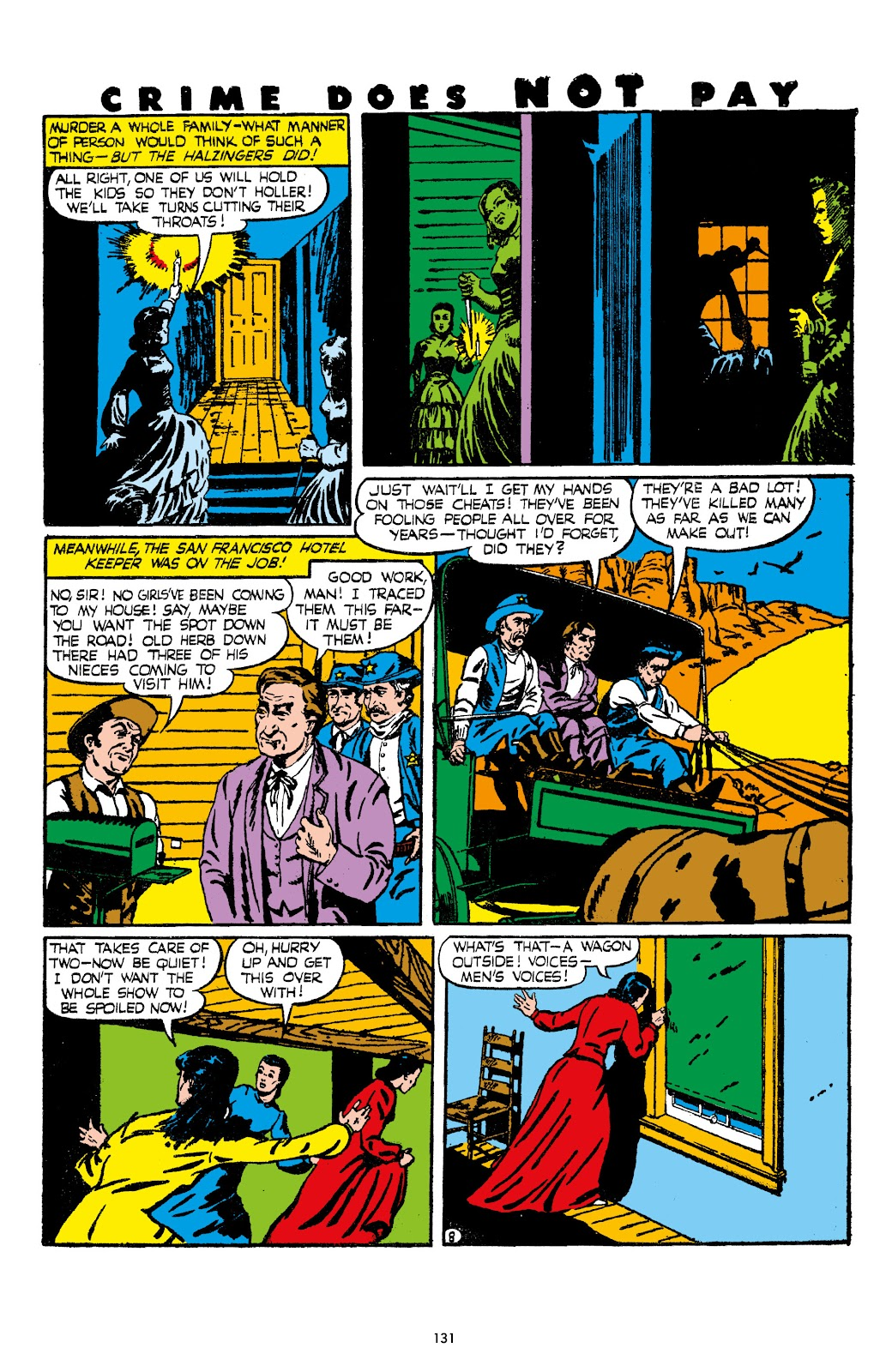 Read online Crime Does Not Pay Archives comic -  Issue # TPB 7 (Part 2) - 33