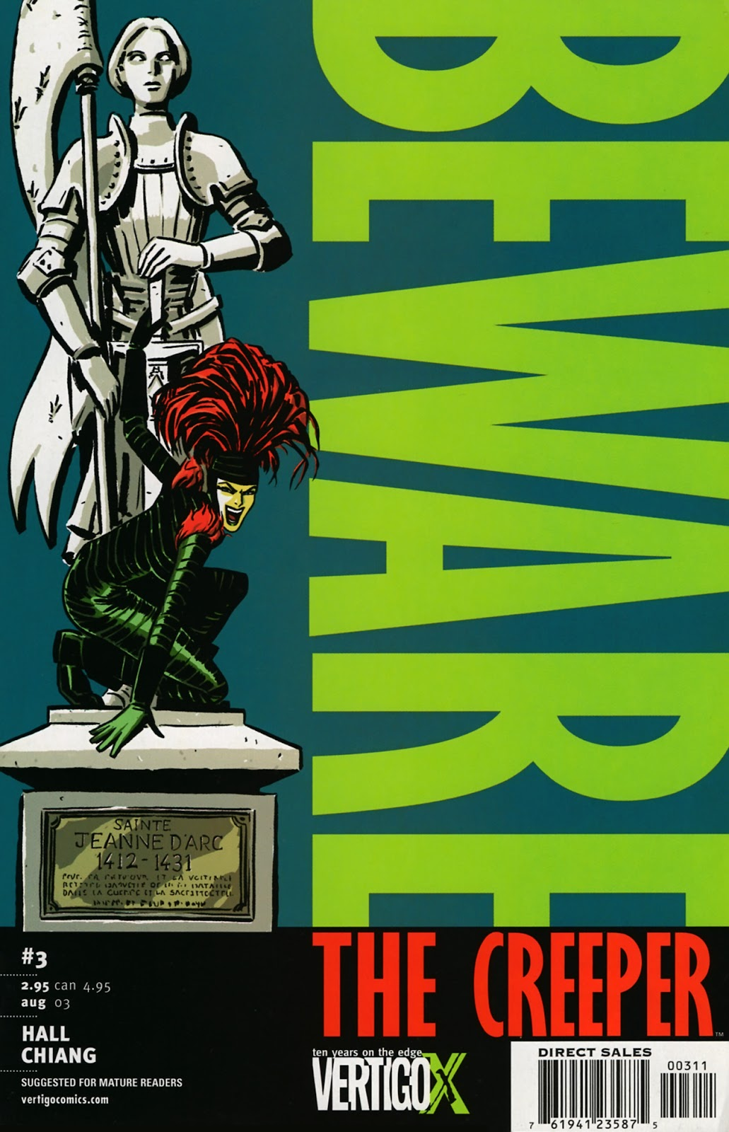 Read online Beware The Creeper (2003) comic -  Issue #3 - 1