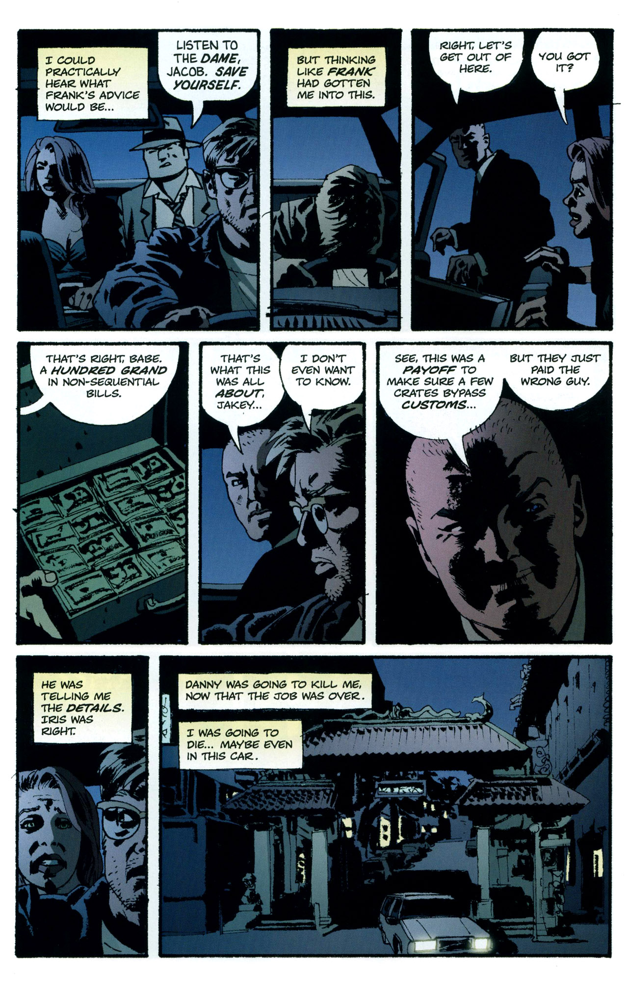 Read online Criminal (2008) comic -  Issue #5 - 23