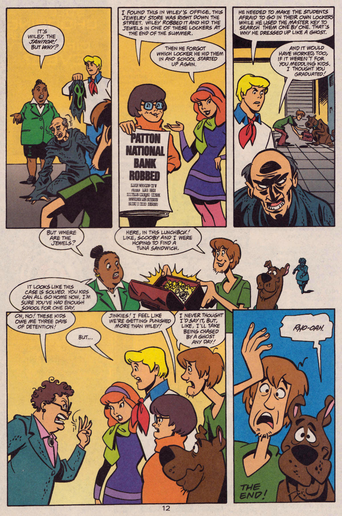 Read online Scooby-Doo (1997) comic -  Issue #28 - 23