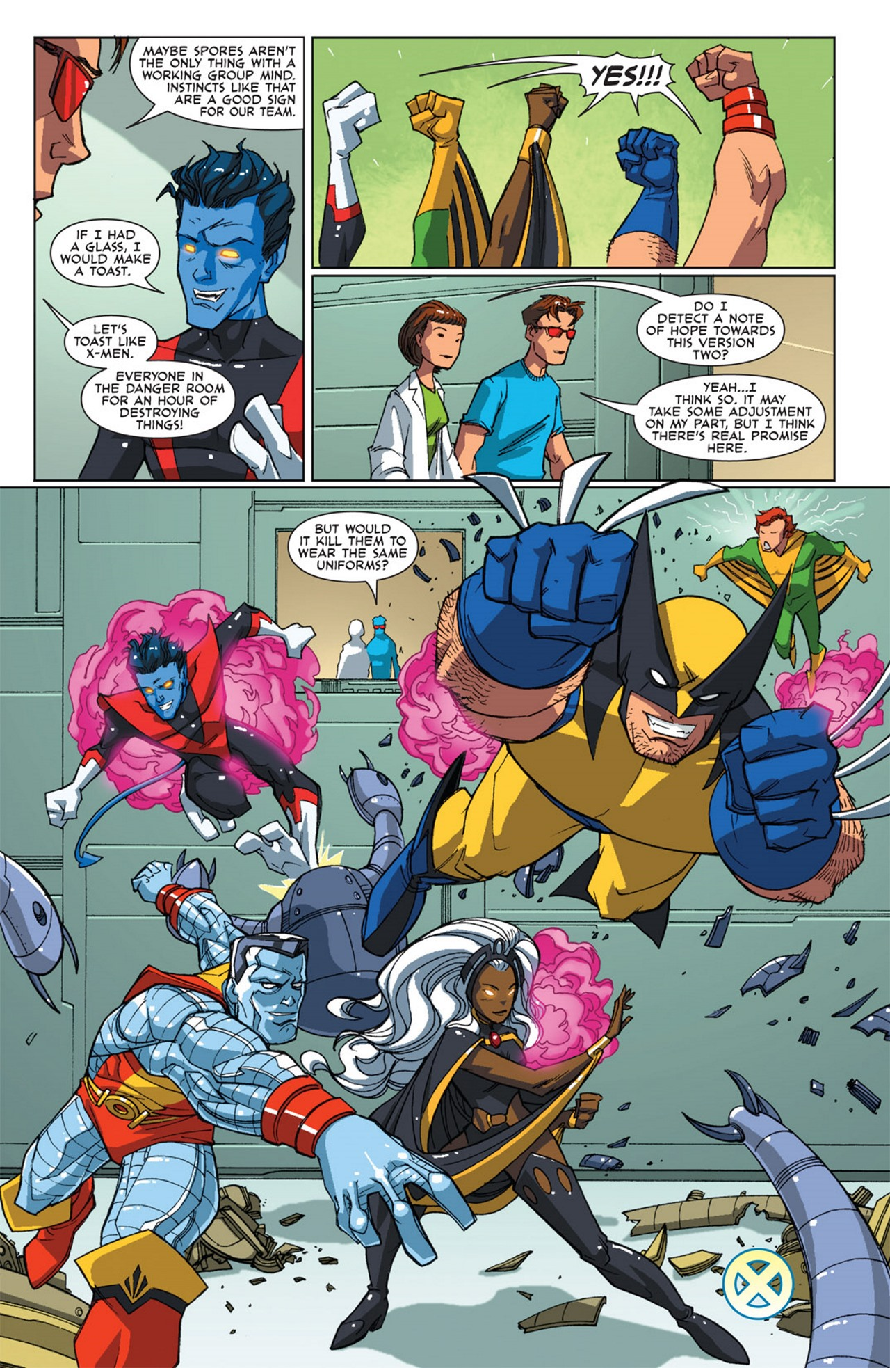 Read online Uncanny X-Men: First Class Giant-Size Special comic -  Issue # Full - 40