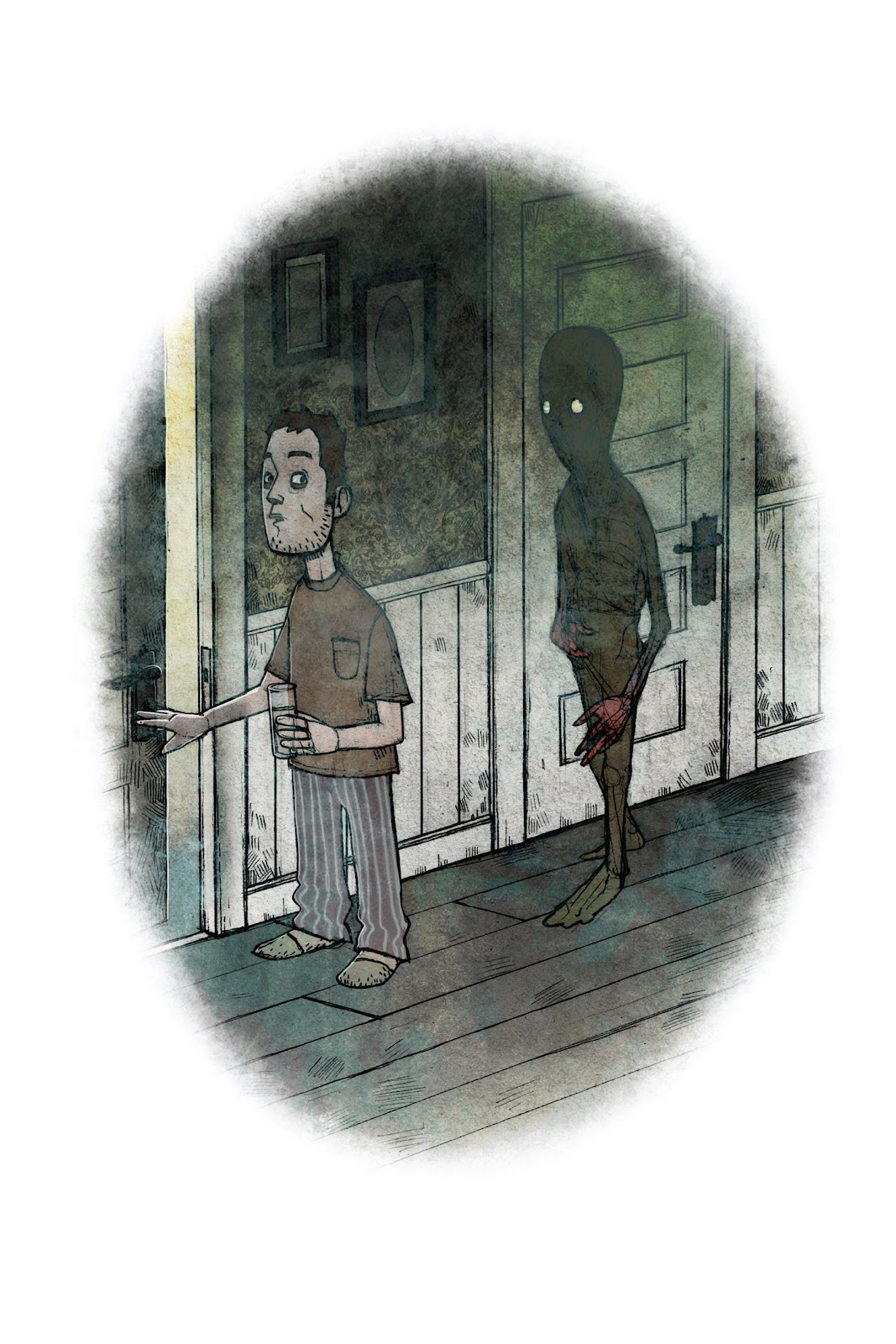 Read online Behind You: One-Shot Horror Stories comic -  Issue # TPB (Part 1) - 14