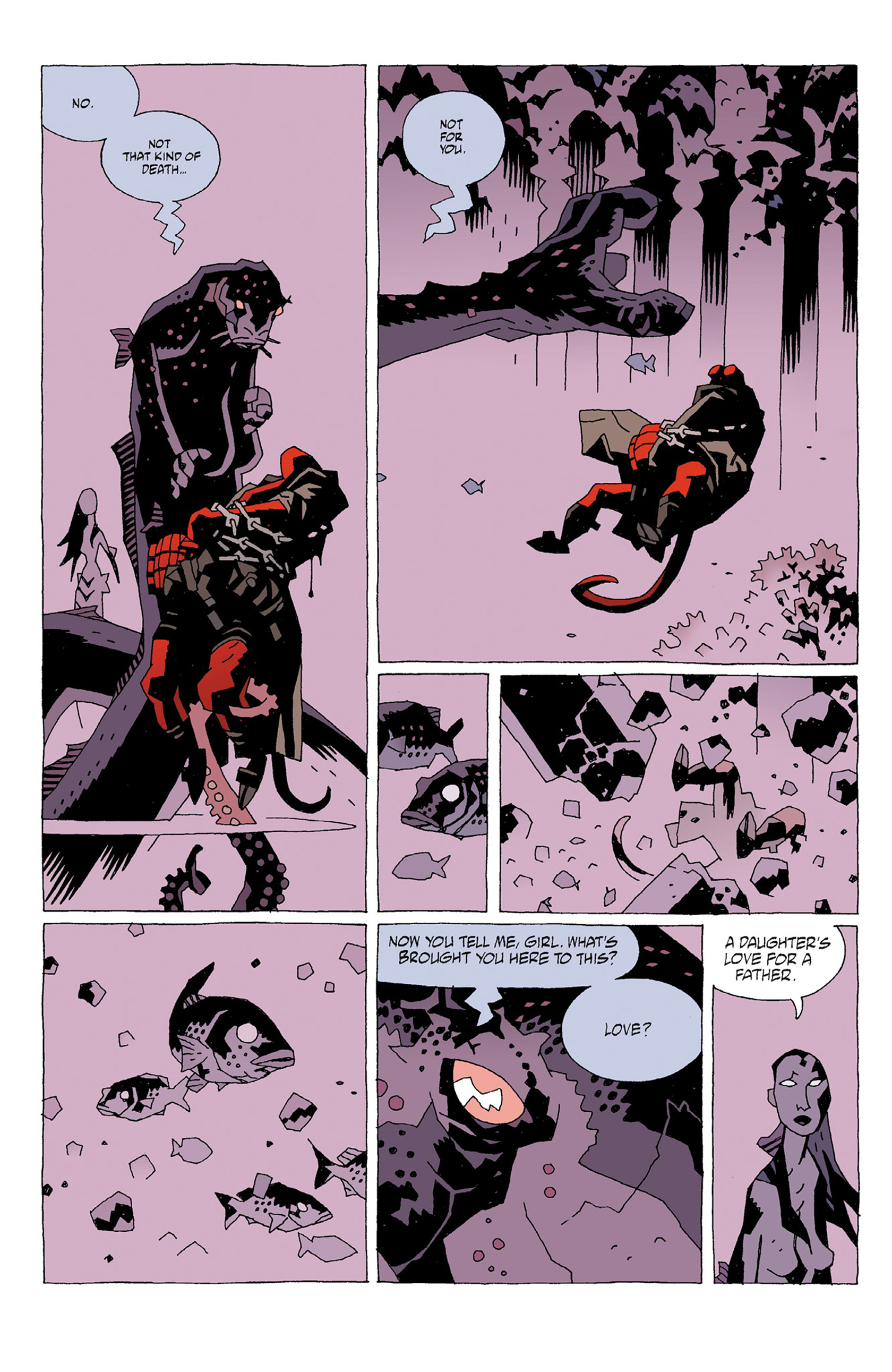 Read online Hellboy: Strange Places comic -  Issue # TPB - 34
