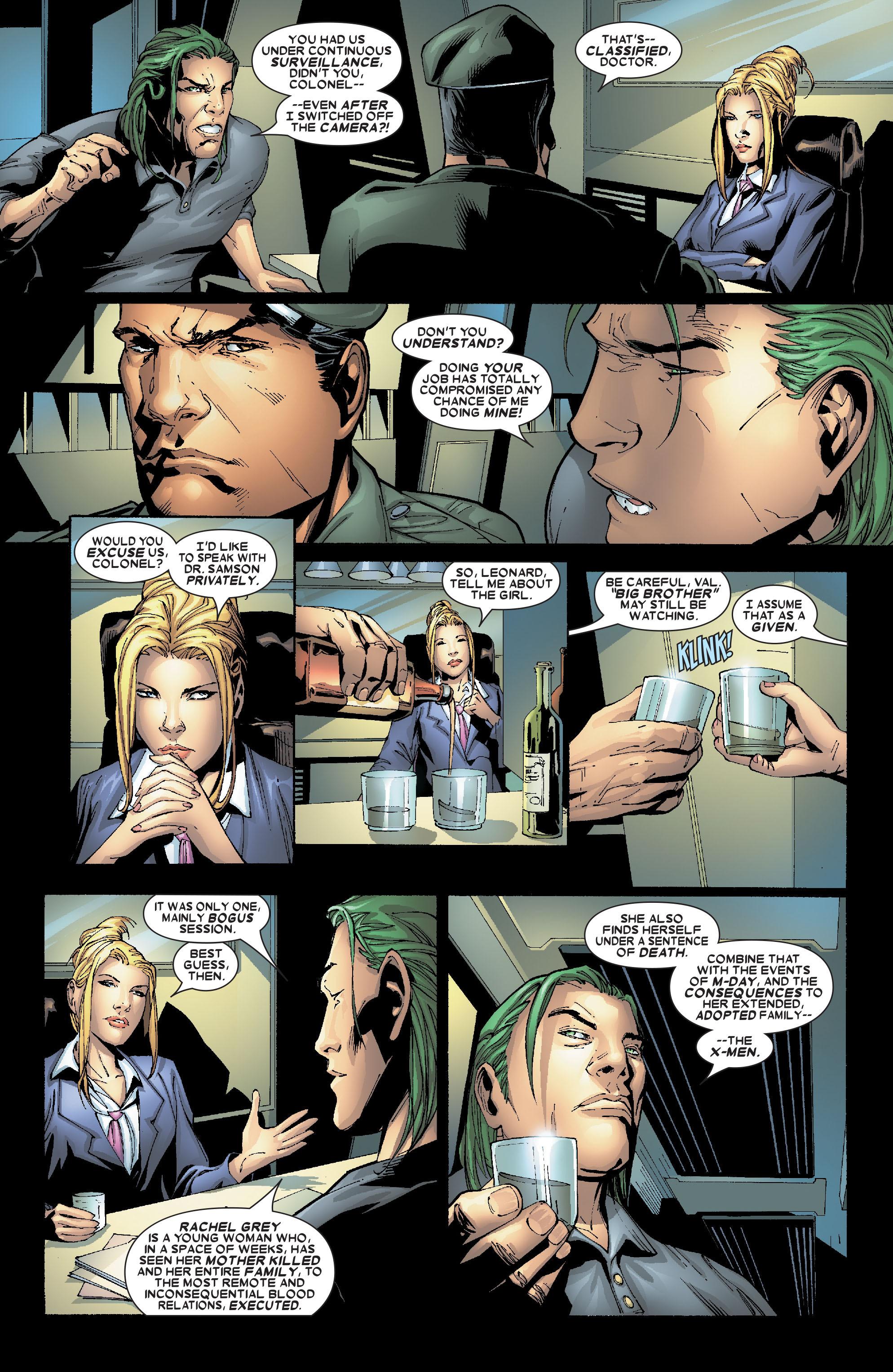 Read online Uncanny X-Men (1963) comic -  Issue #469 - 17