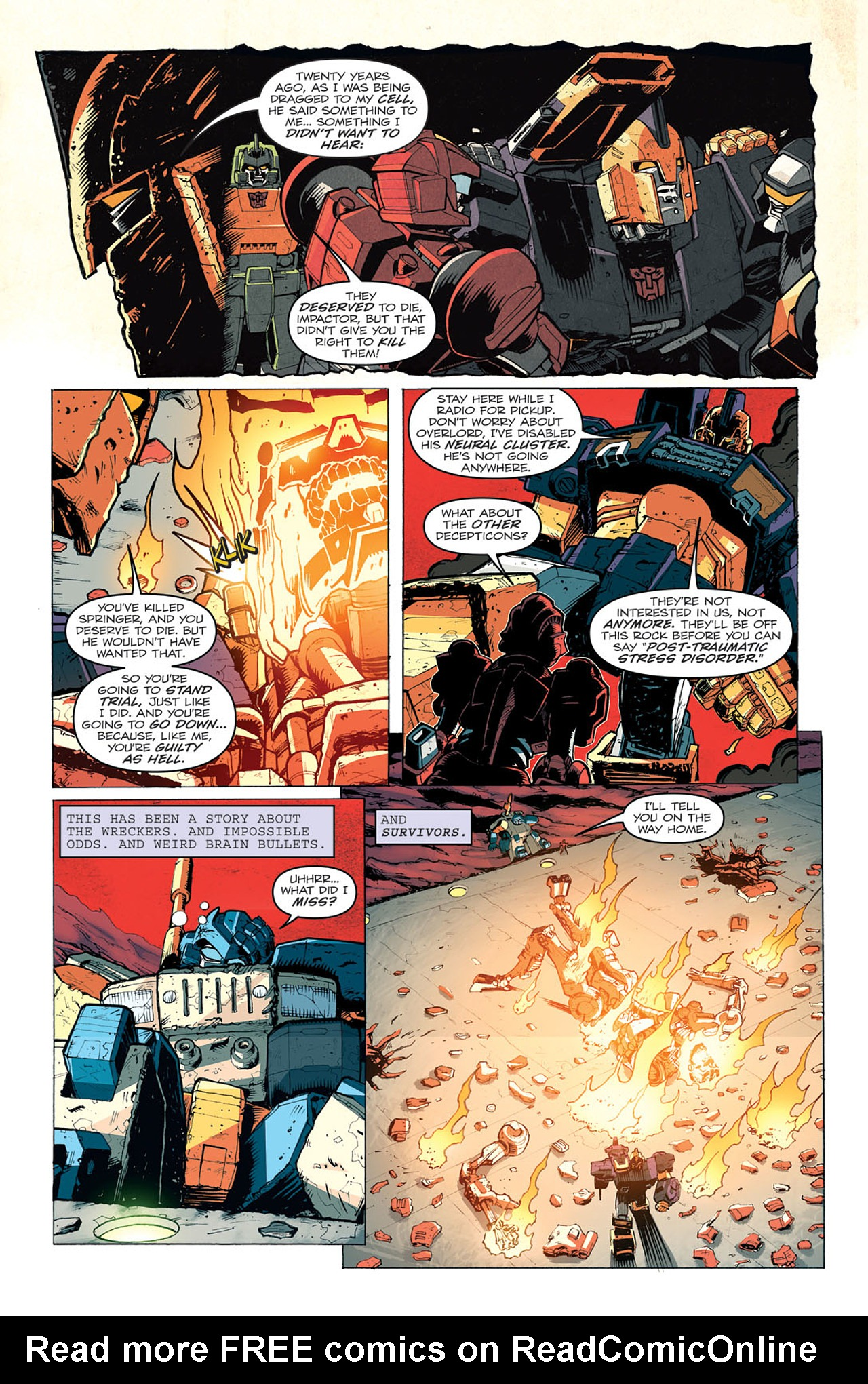 Read online Transformers: Last Stand of The Wreckers comic -  Issue #5 - 22
