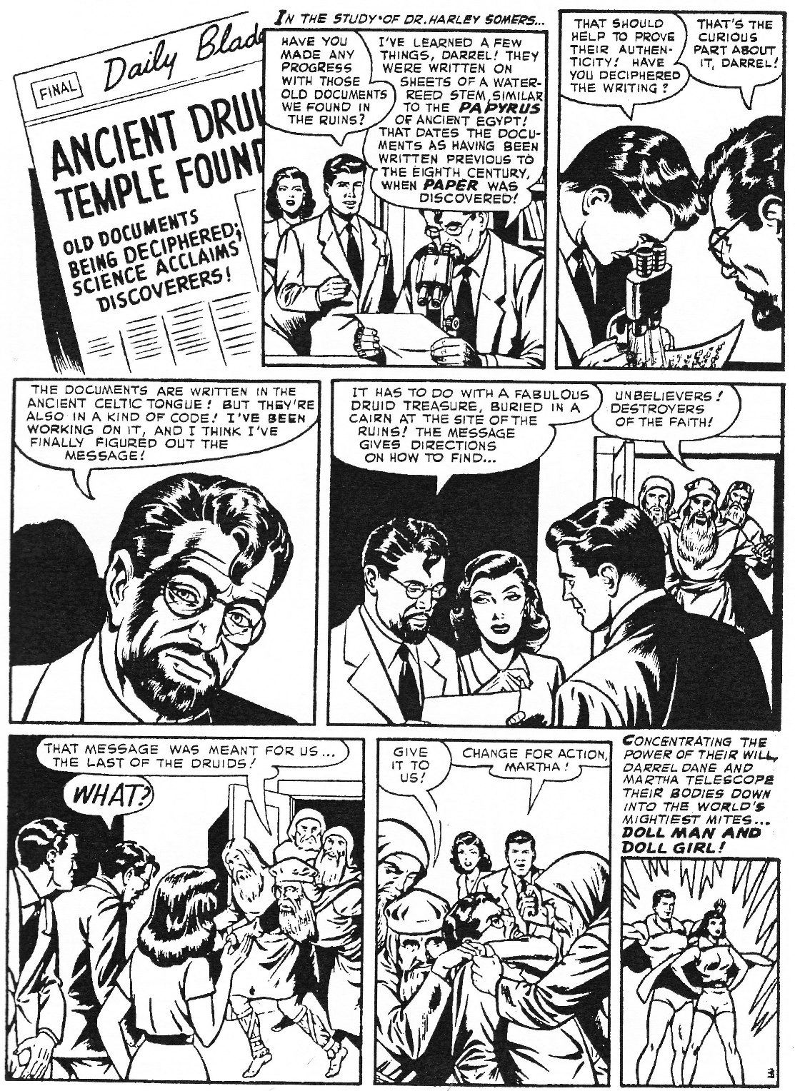Read online Men of Mystery Comics comic -  Issue #74 - 45