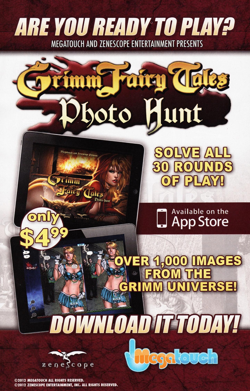 Read online Grimm Fairy Tales vs. Wonderland comic -  Issue #3 - 32
