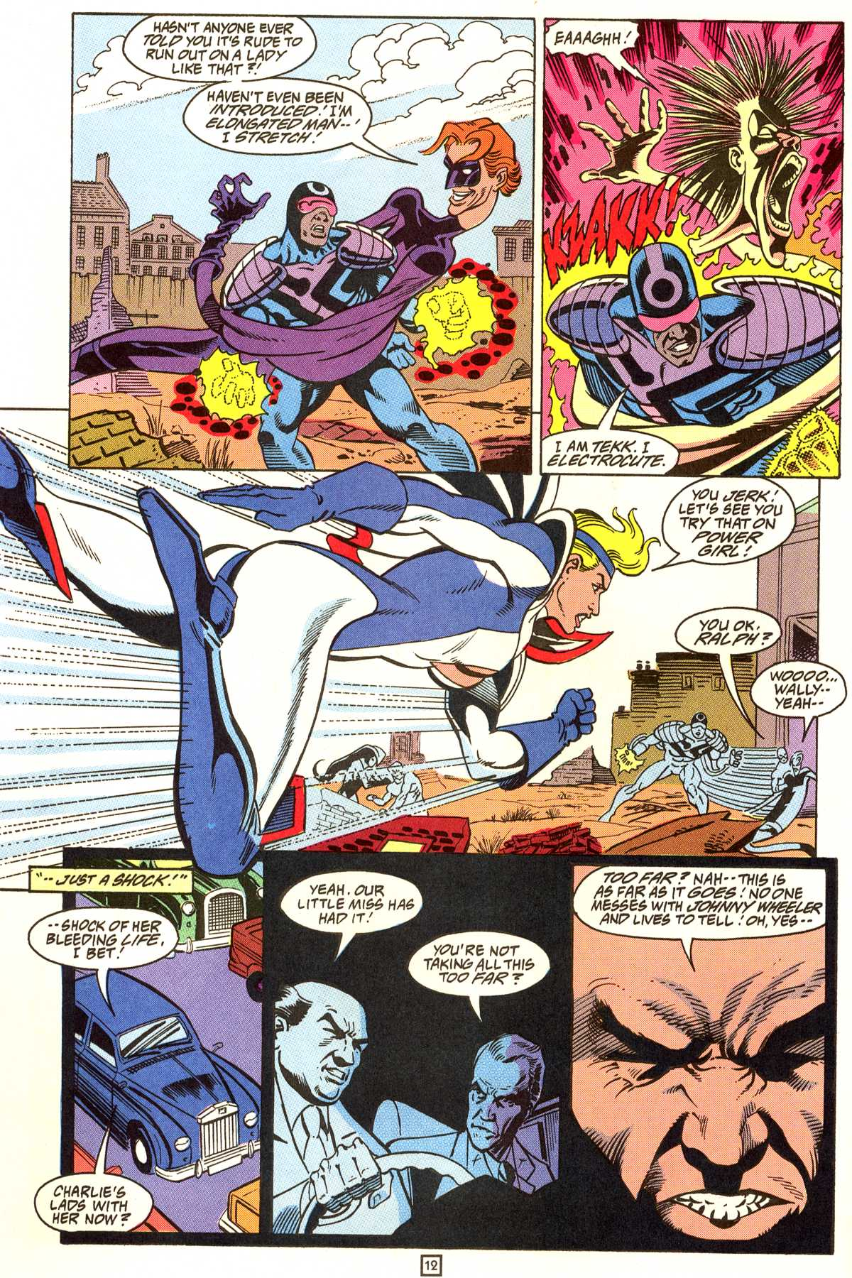 Read online Peter Cannon--Thunderbolt (1992) comic -  Issue #9 - 13