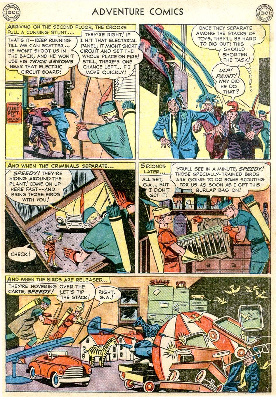 Read online Adventure Comics (1938) comic -  Issue #174 - 39