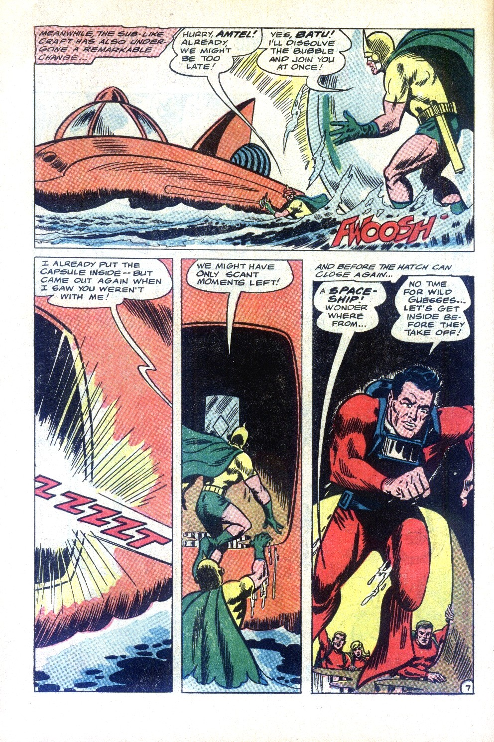 Read online Sea Devils comic -  Issue #32 - 11