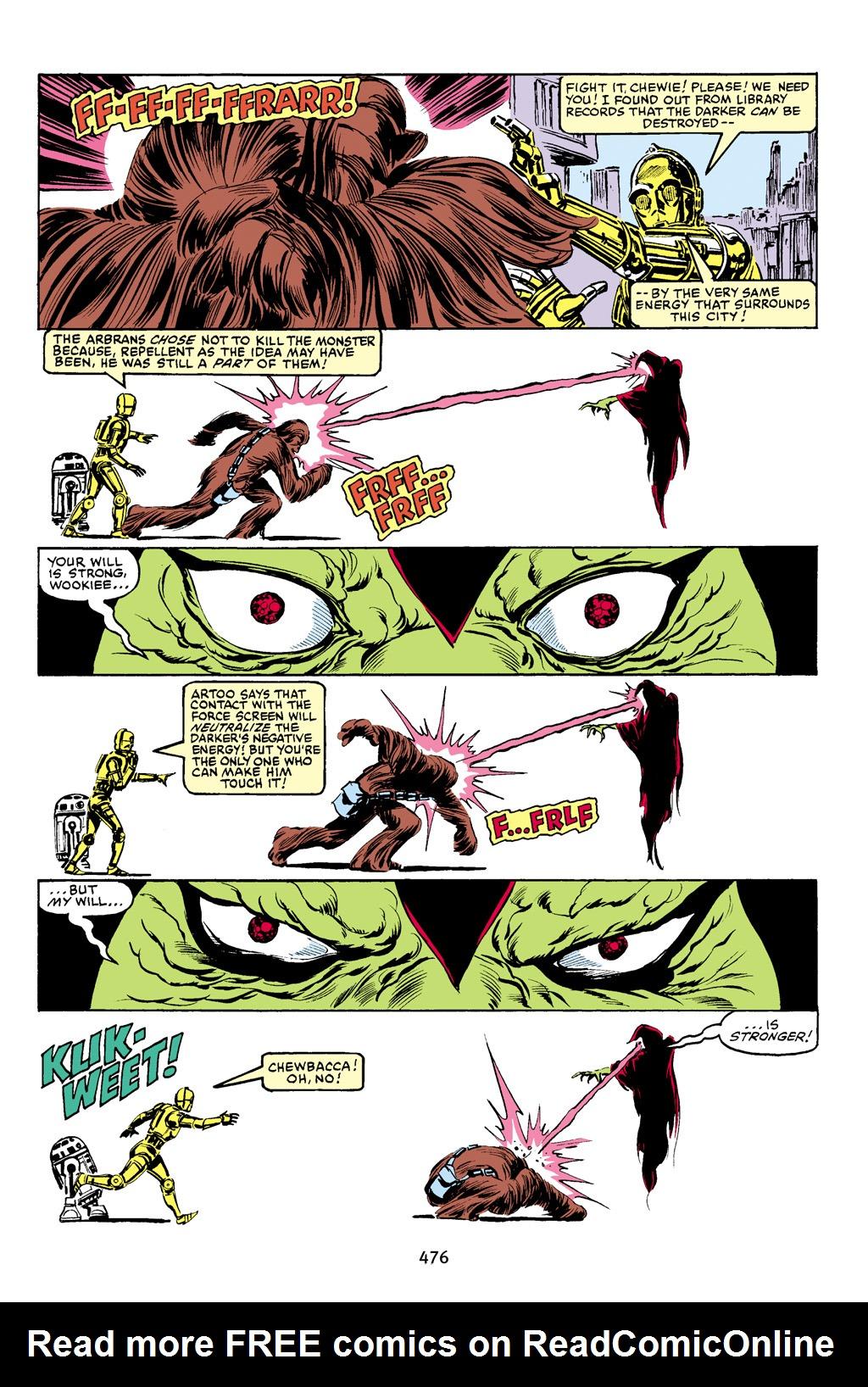 Read online Star Wars Omnibus comic -  Issue # Vol. 16 - 467
