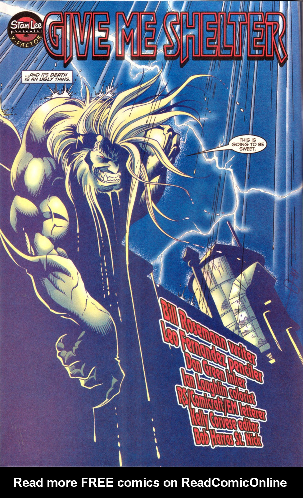 Read online X-Factor (1986) comic -  Issue #142 - 3
