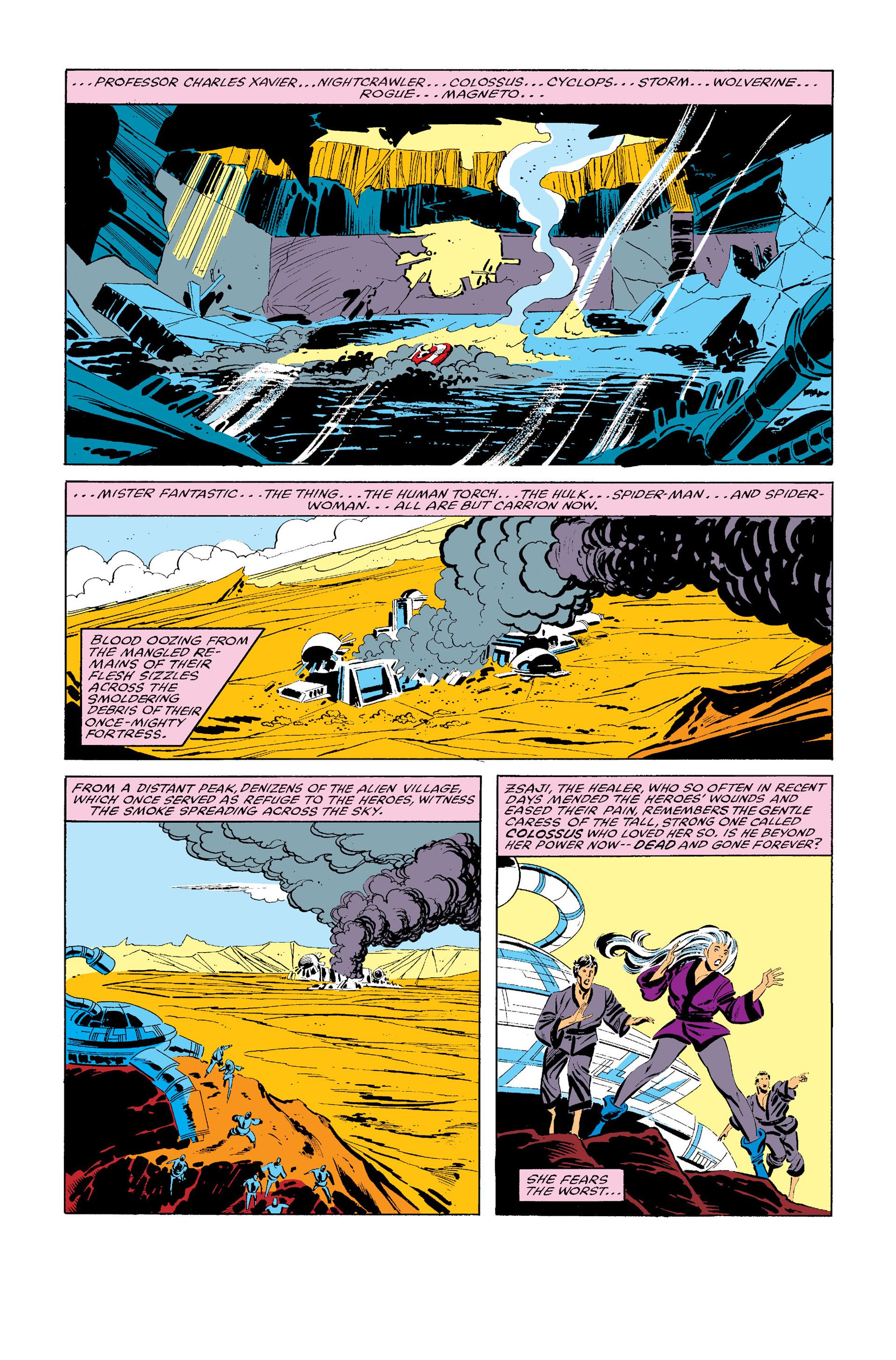 Read online Secret Wars (1985) comic -  Issue #12 - 3