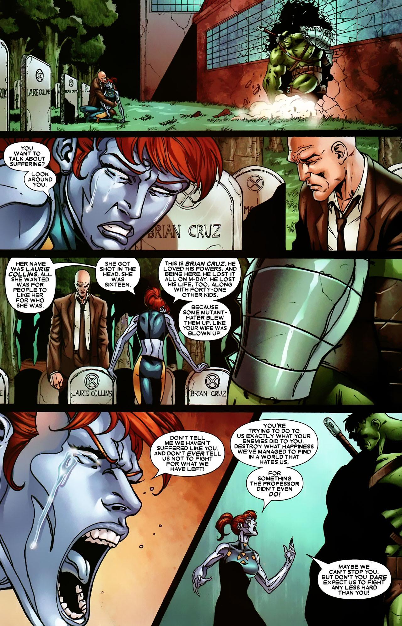 Read online World War Hulk: X-Men comic -  Issue #3 - 21