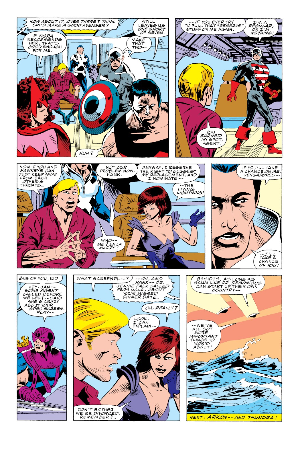 Avengers West Coast (1989) issue 74 - Page 23
