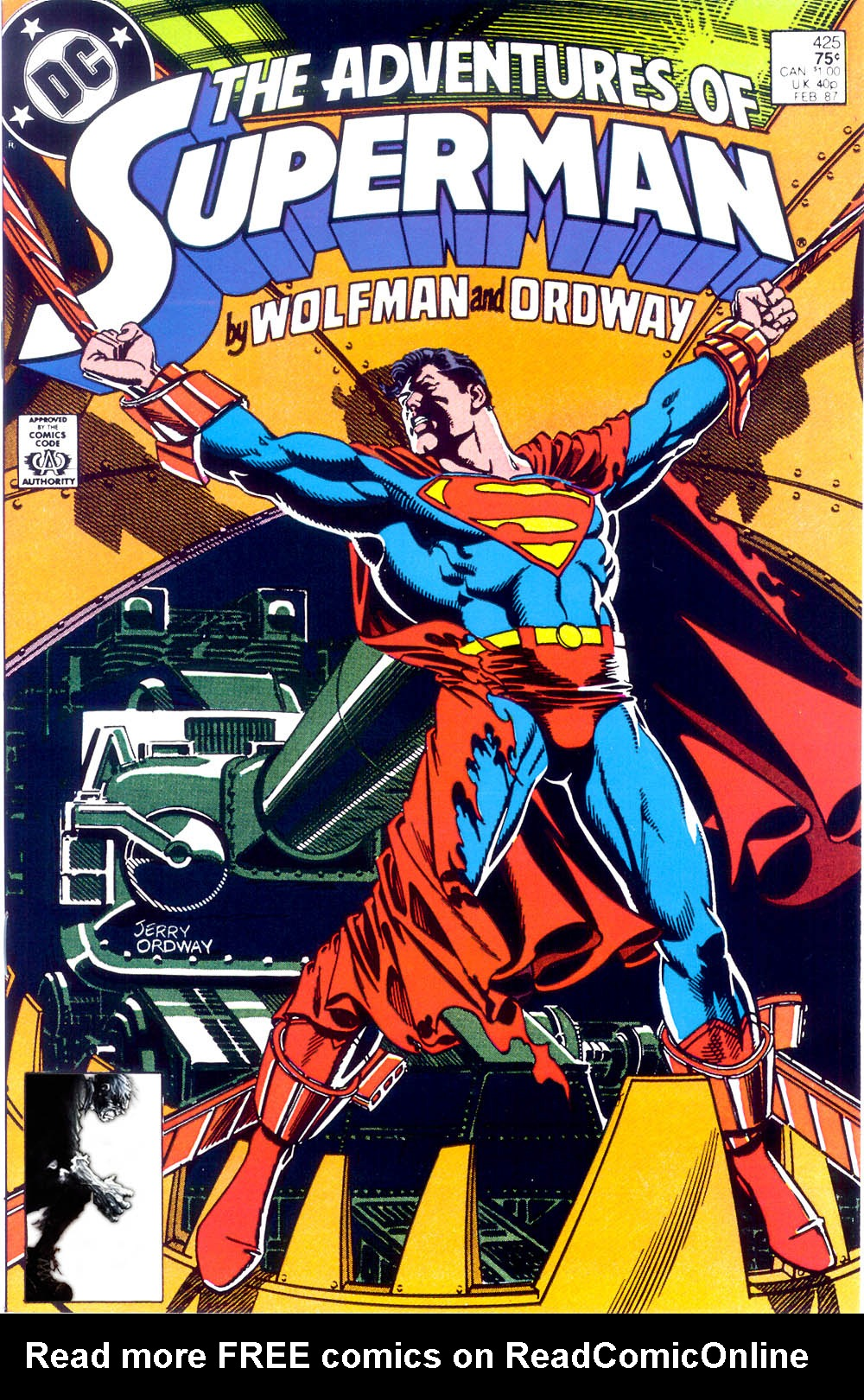 Adventures of Superman (1987) 425 Page 1