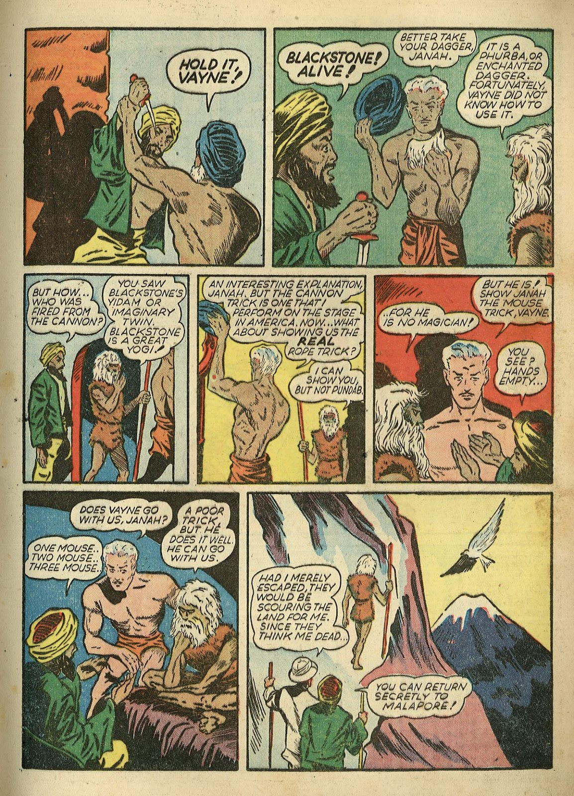 Read online Super-Magician Comics comic -  Issue #1 - 25
