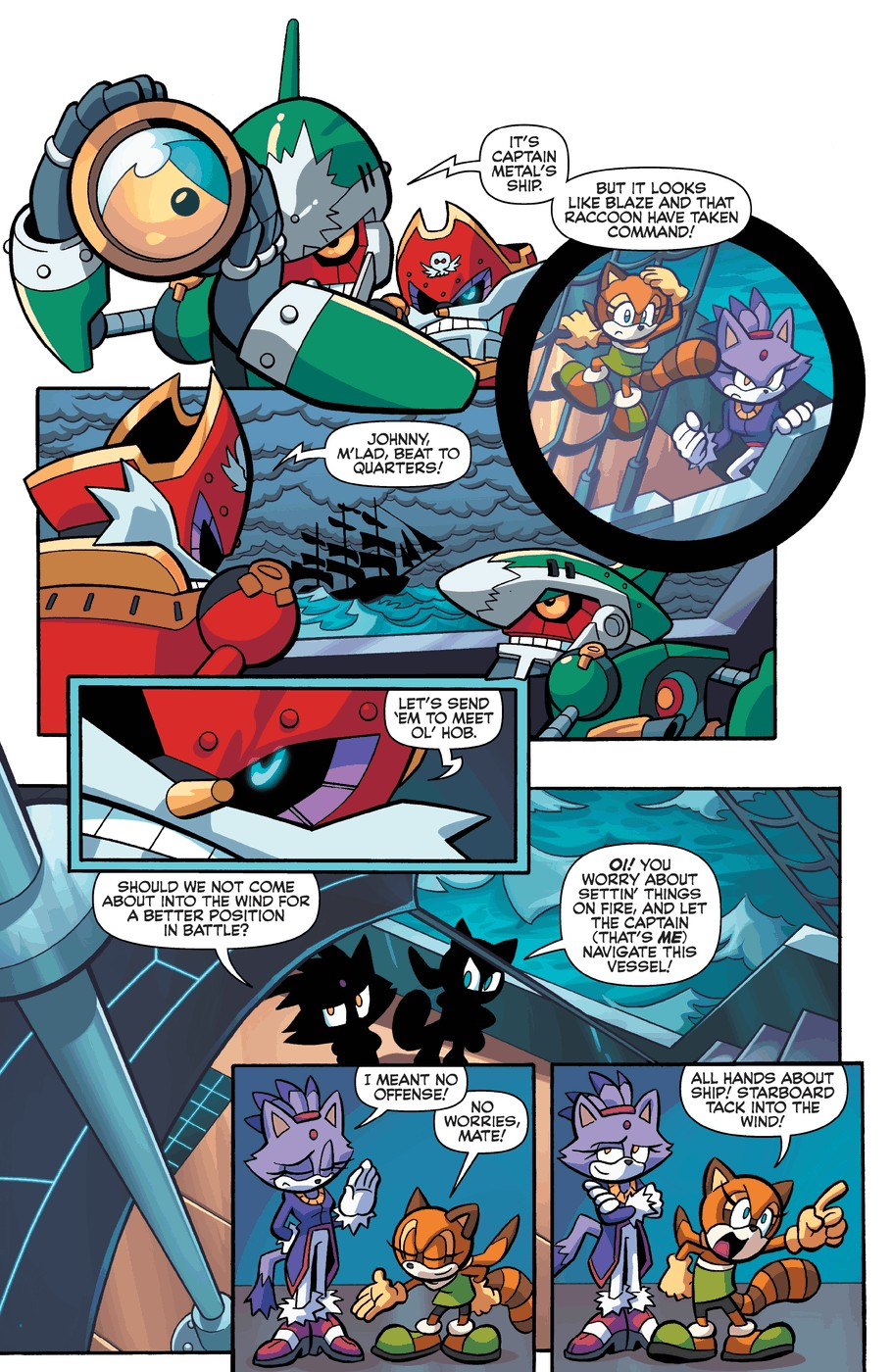 Read online Sonic Universe comic -  Issue #57 - 14