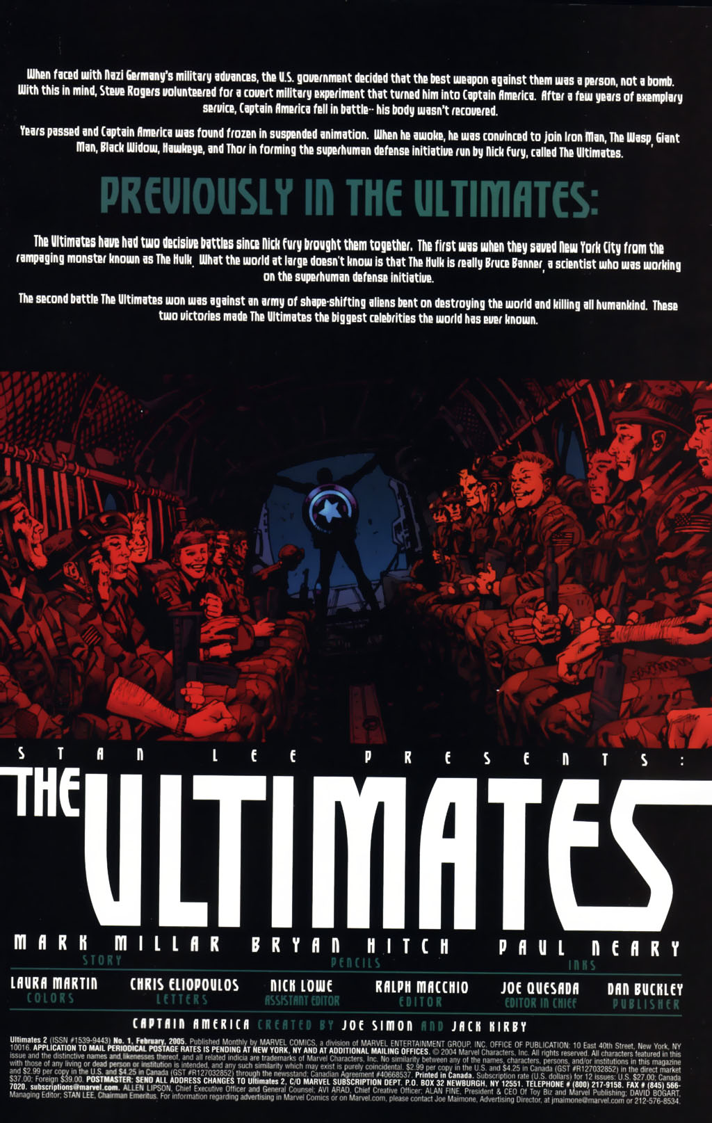 Read online Ultimates 2 comic -  Issue #1 - 2