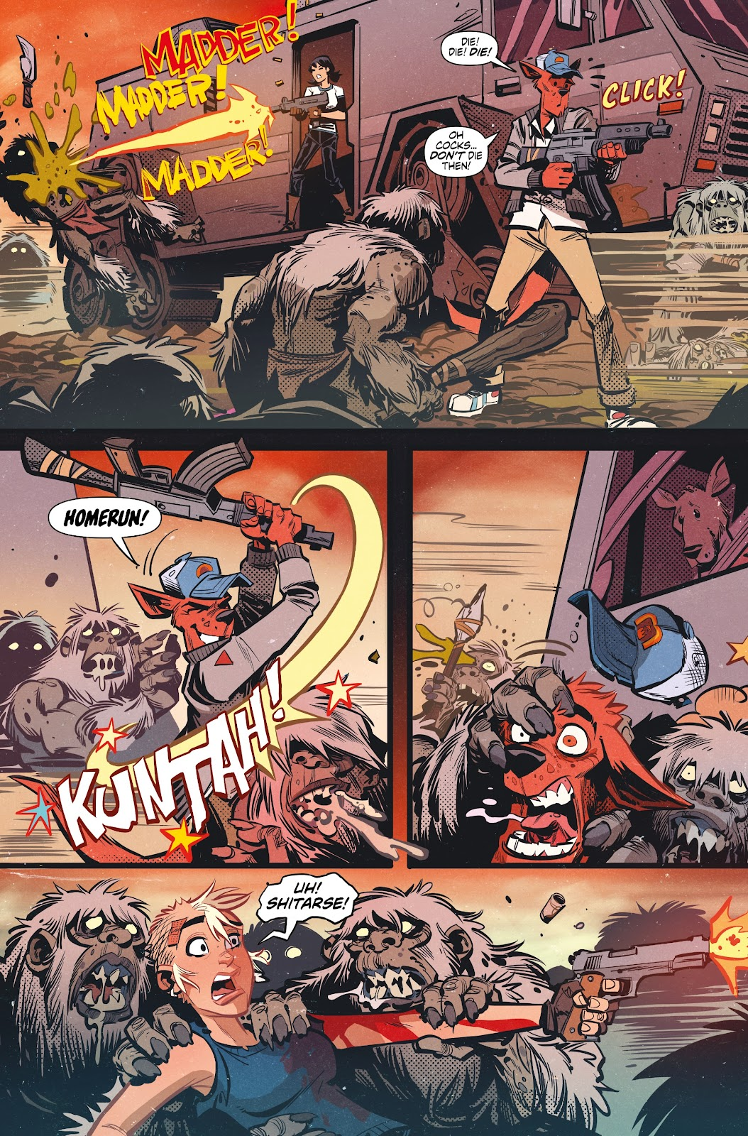 Read online Tank Girl Ongoing comic -  Issue #3 - 7