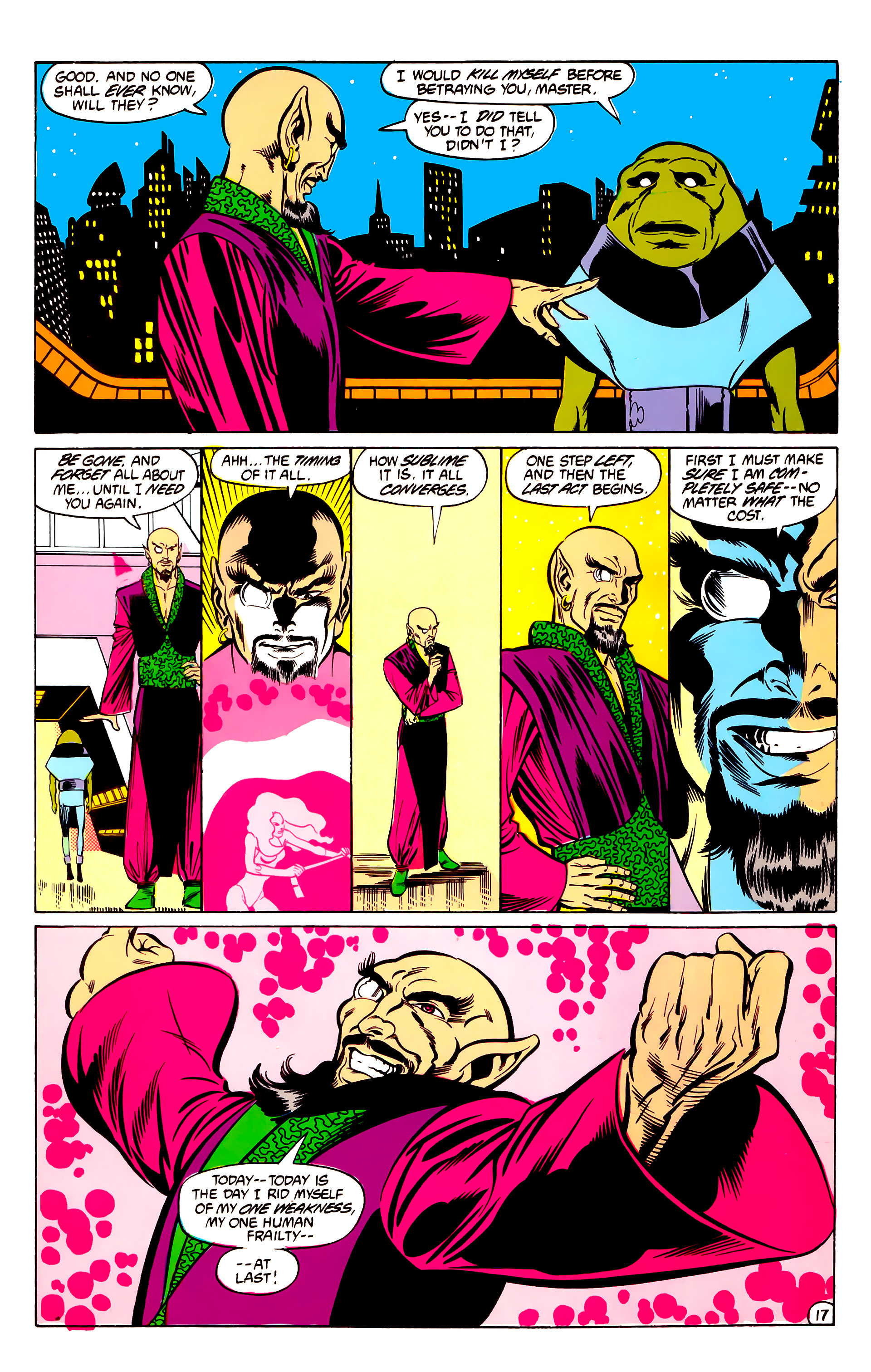 Legion of Super-Heroes (1984) 30 Page 17