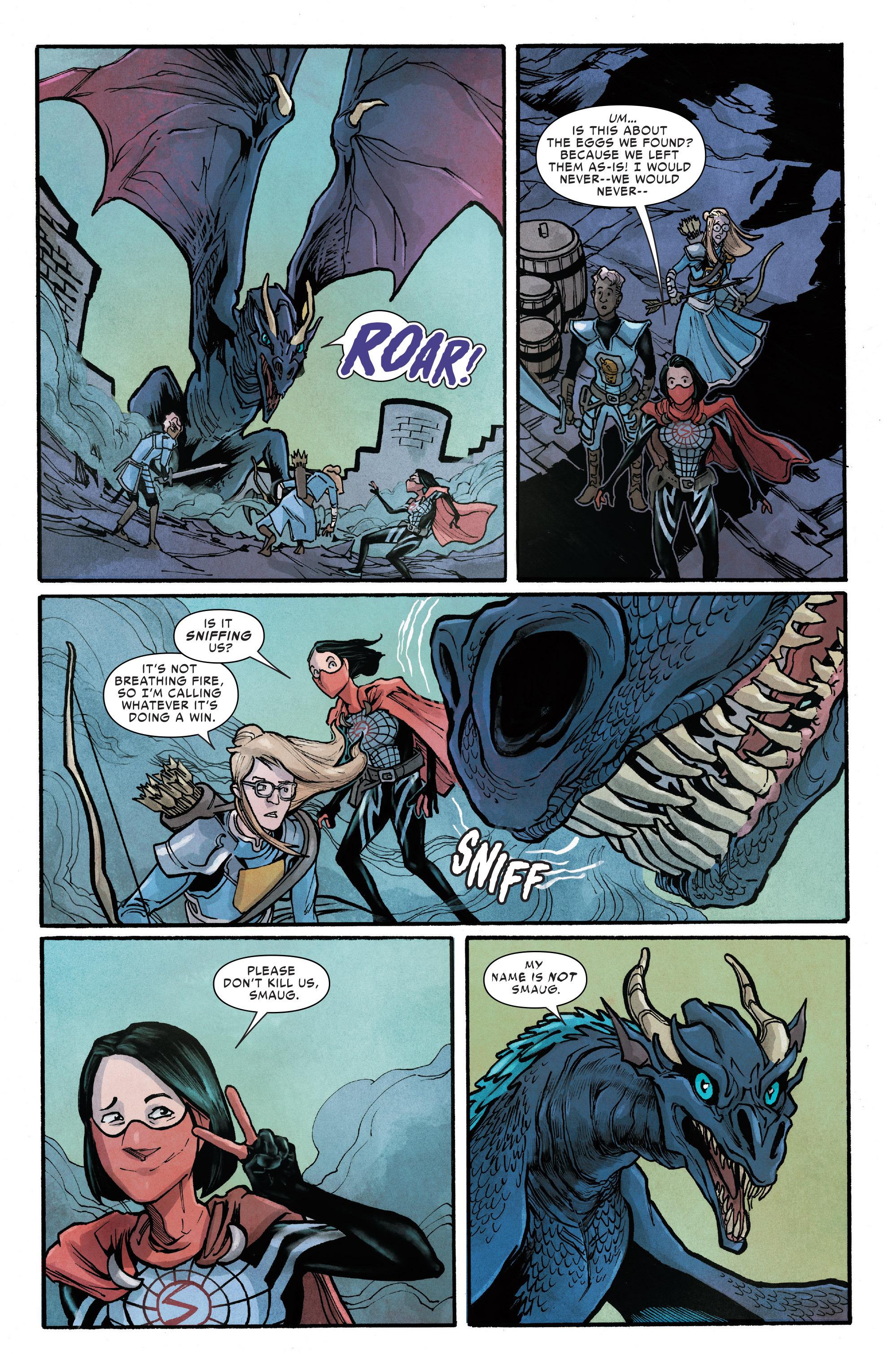 Read online Silk (2016) comic -  Issue #12 - 14