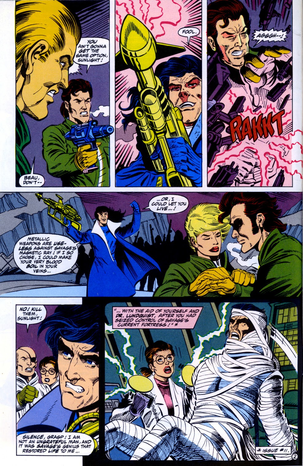 Doc Savage (1988) issue 13 - Page 4